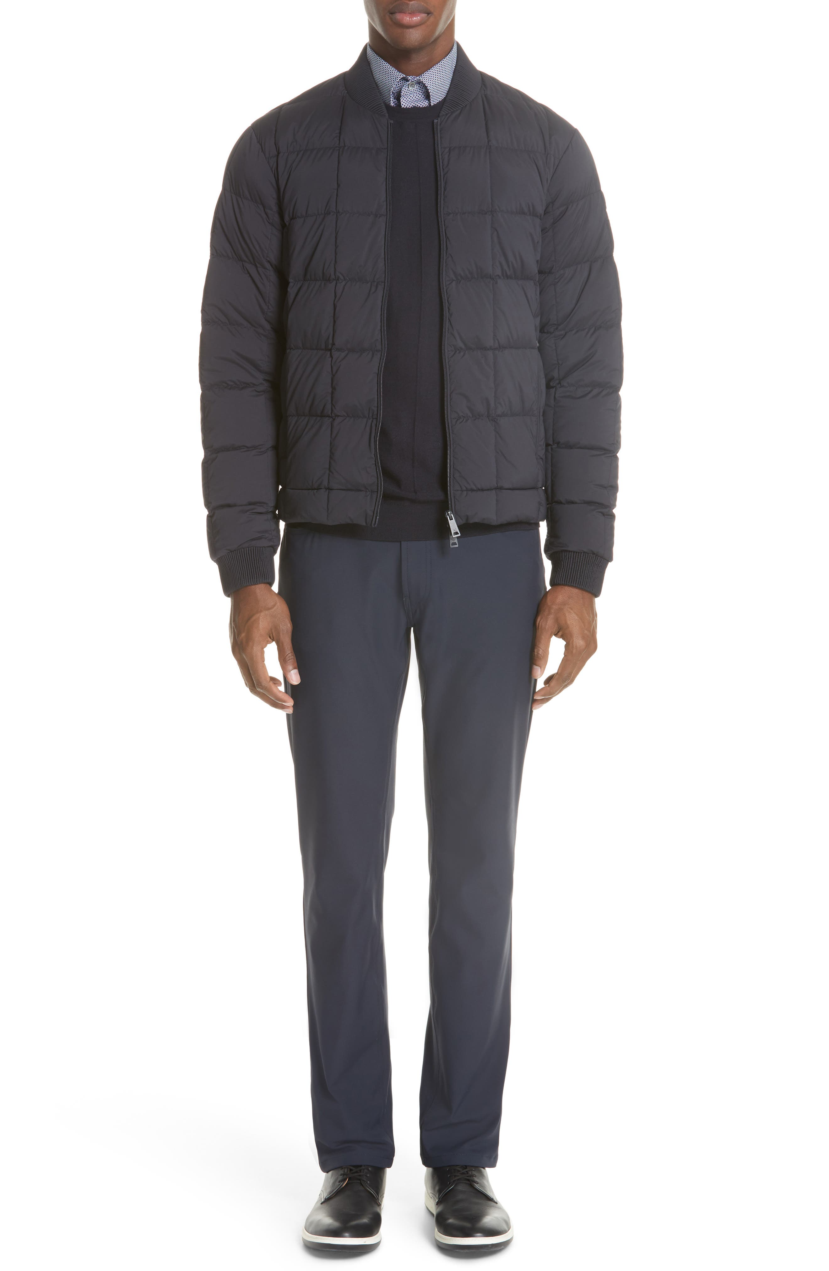 Quilted Down Jacket,                             Alternate thumbnail 7, color,                             400