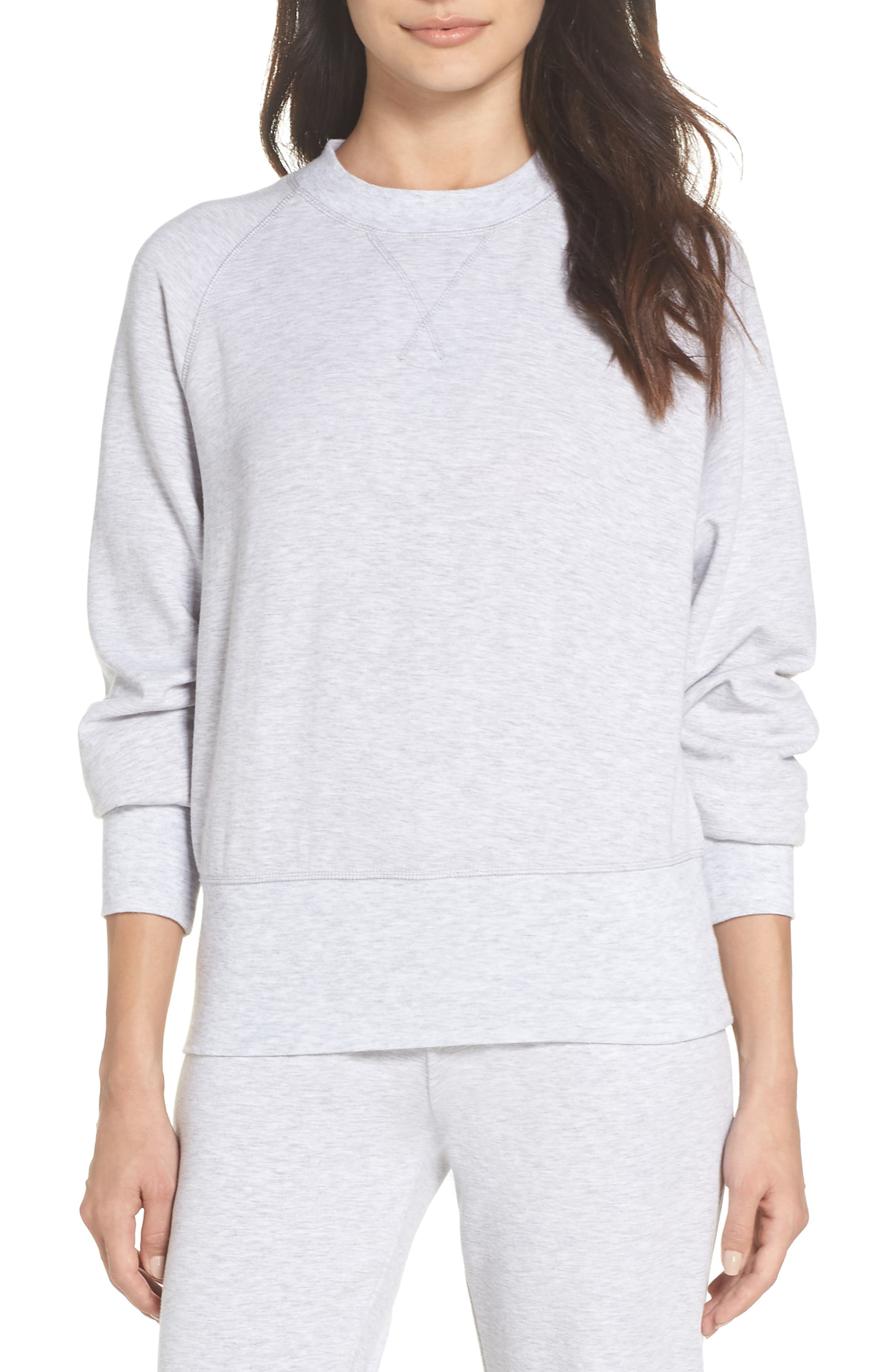 Cool Touch Sweatshirt,                         Main,                         color, GREY