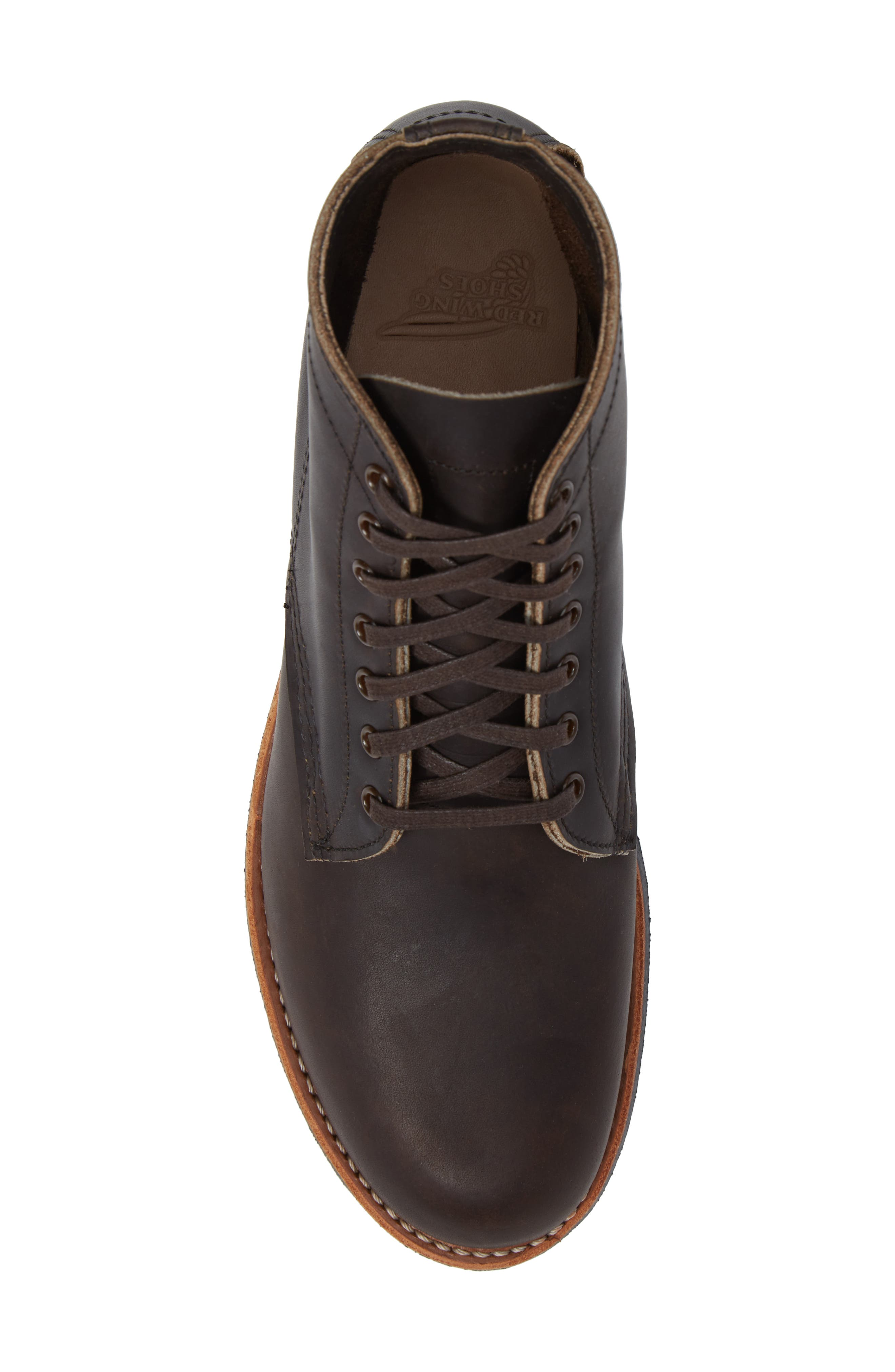 RED WING,                             Merchant Boot,                             Alternate thumbnail 5, color,                             EBONY HARNESS LEATHER