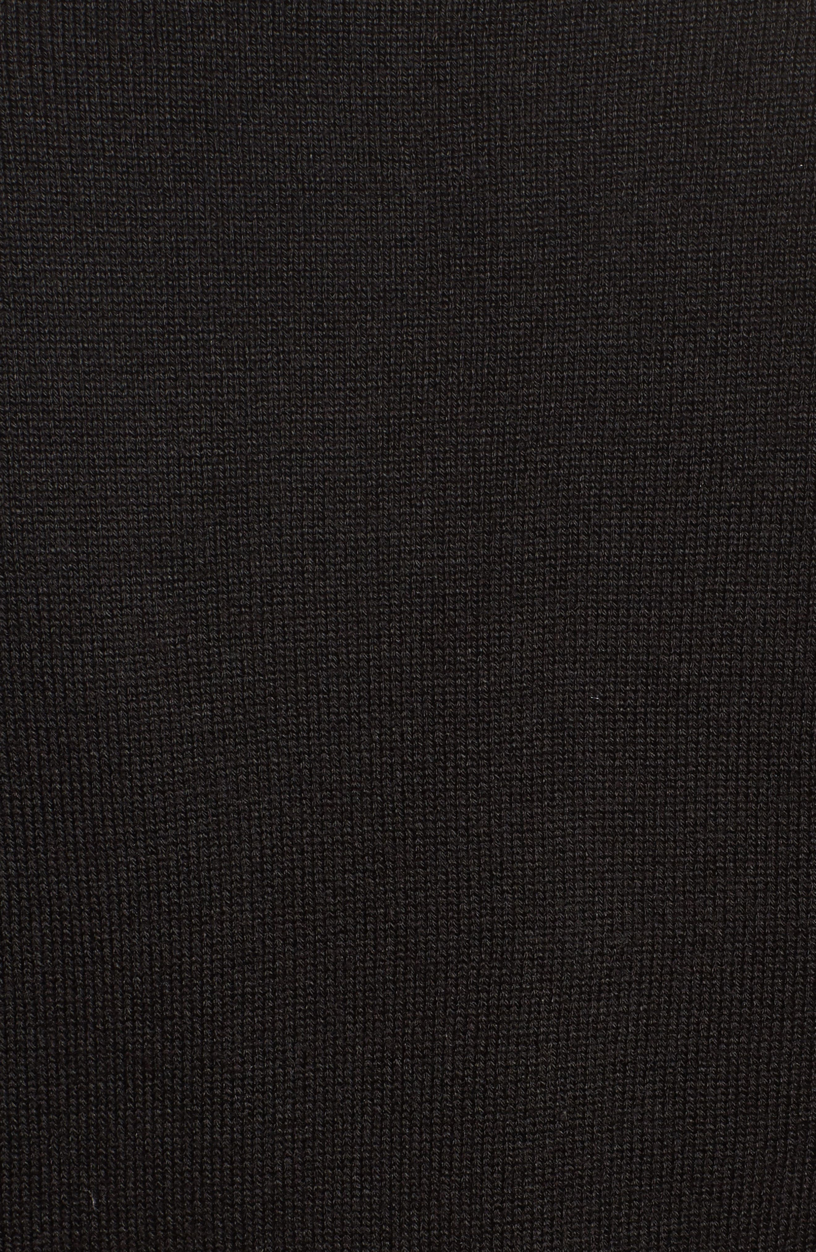Bell Sleeve Bolero,                             Alternate thumbnail 5, color,                             BLACK