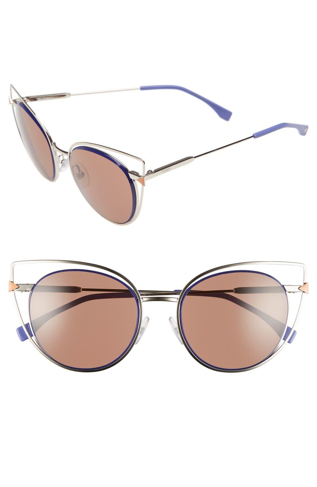 53mm Sunglasses,                             Main thumbnail 4, color,