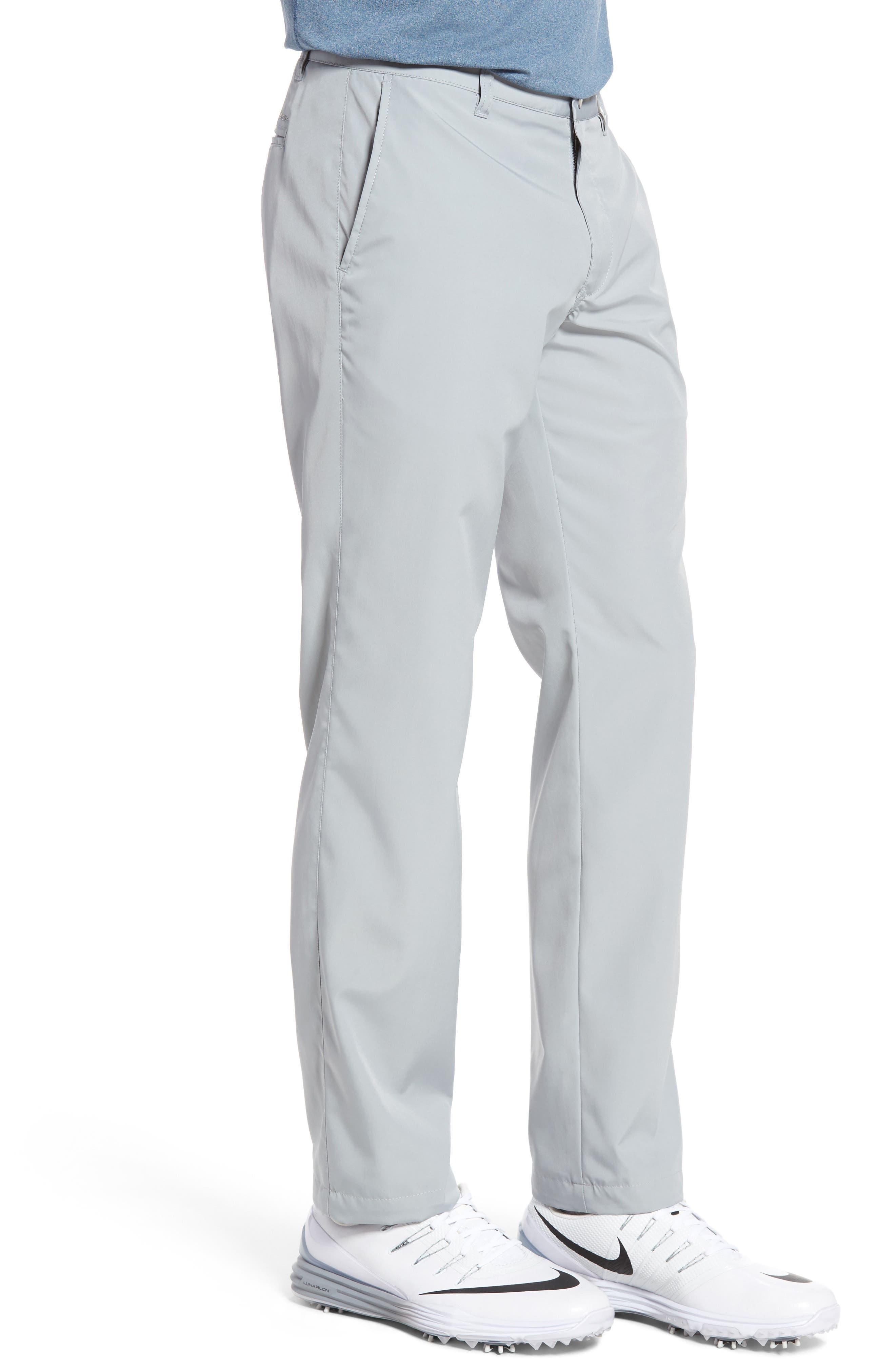 Lightweight Highland Slim Fit Golf Pants,                             Alternate thumbnail 3, color,                             PEWTER