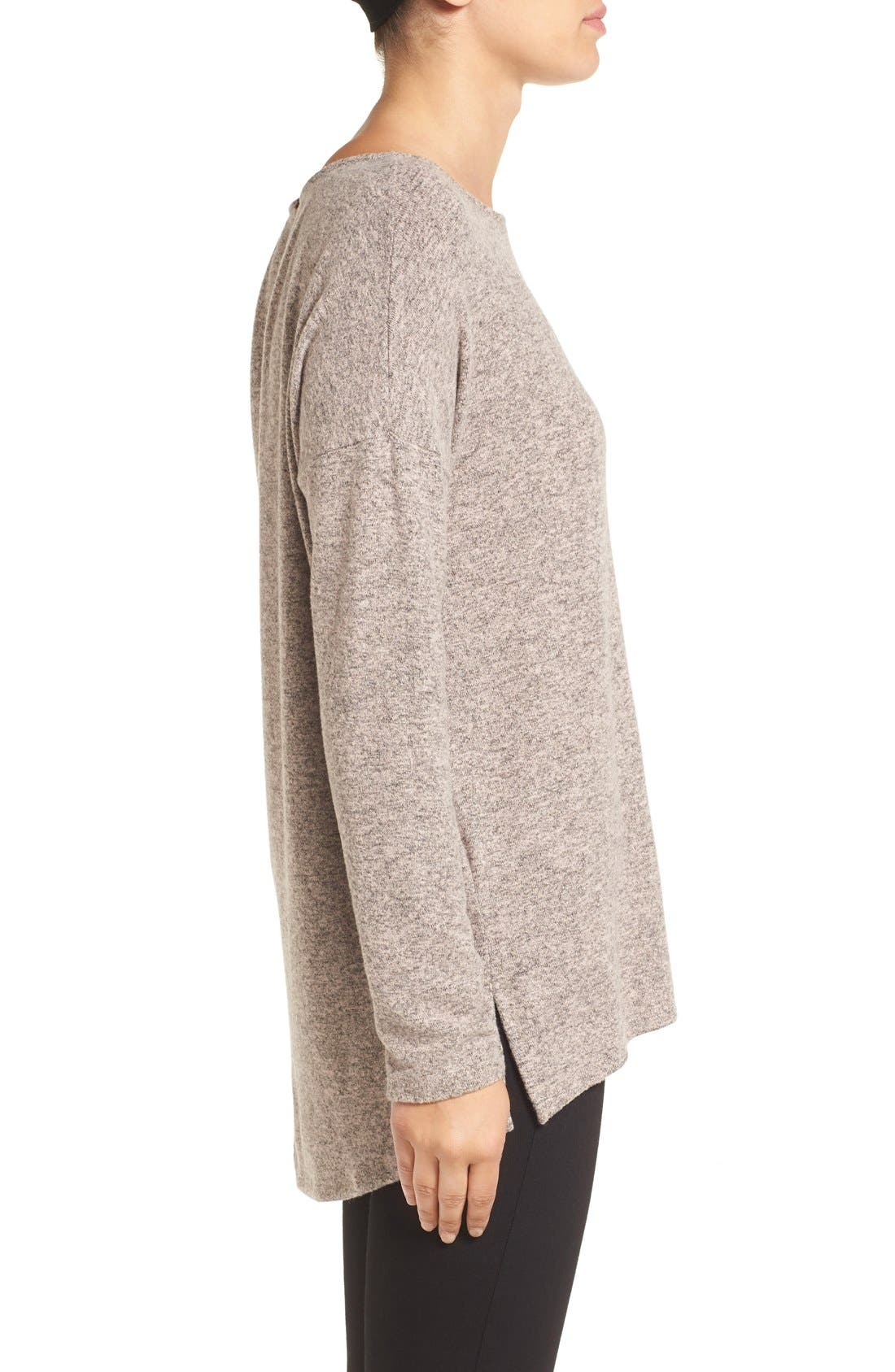Cozy Ballet Neck High/Low Pullover,                             Alternate thumbnail 52, color,