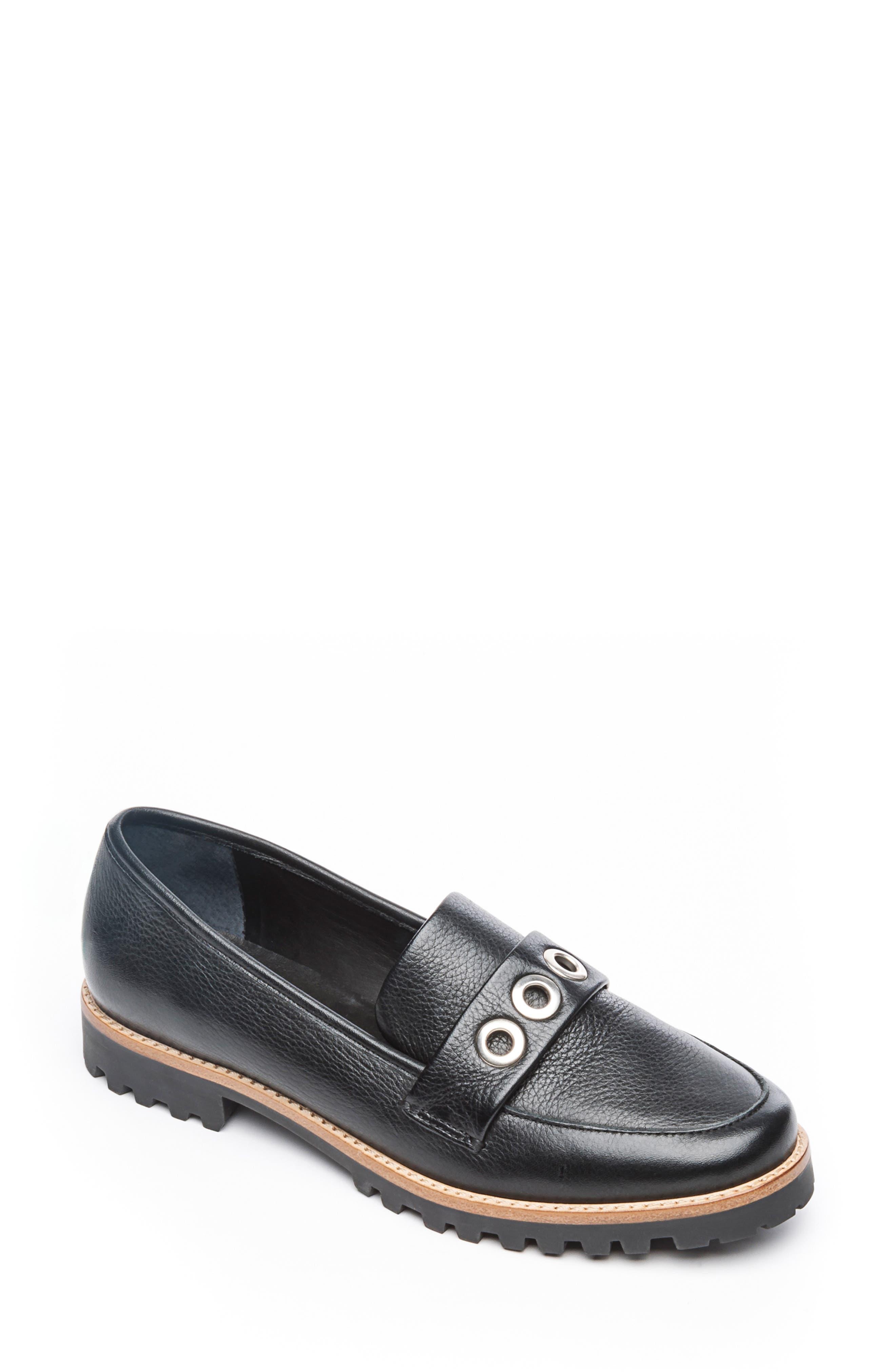 Bernardo Ozzy Loafer, Black