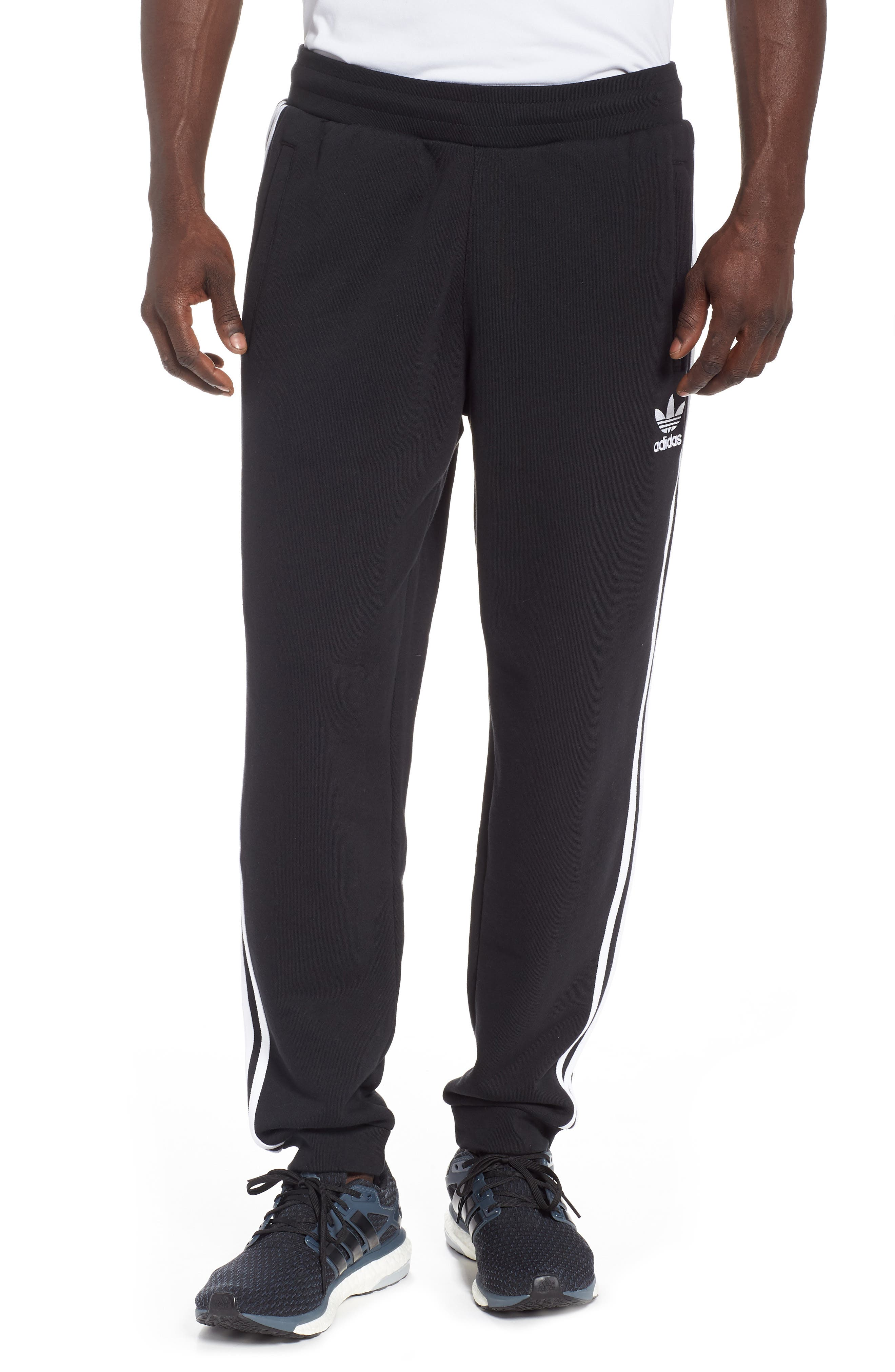 Adicolor Track Pants,                         Main,                         color, BLACK