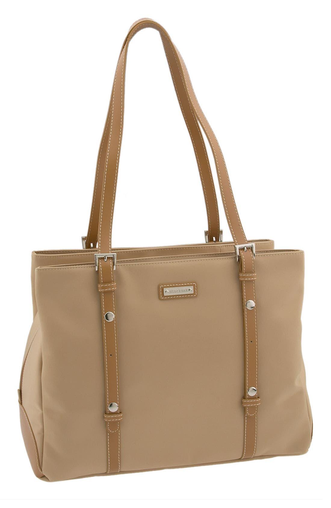 STORKSAK 'Gigi' Diaper Bag, Main, color, 251