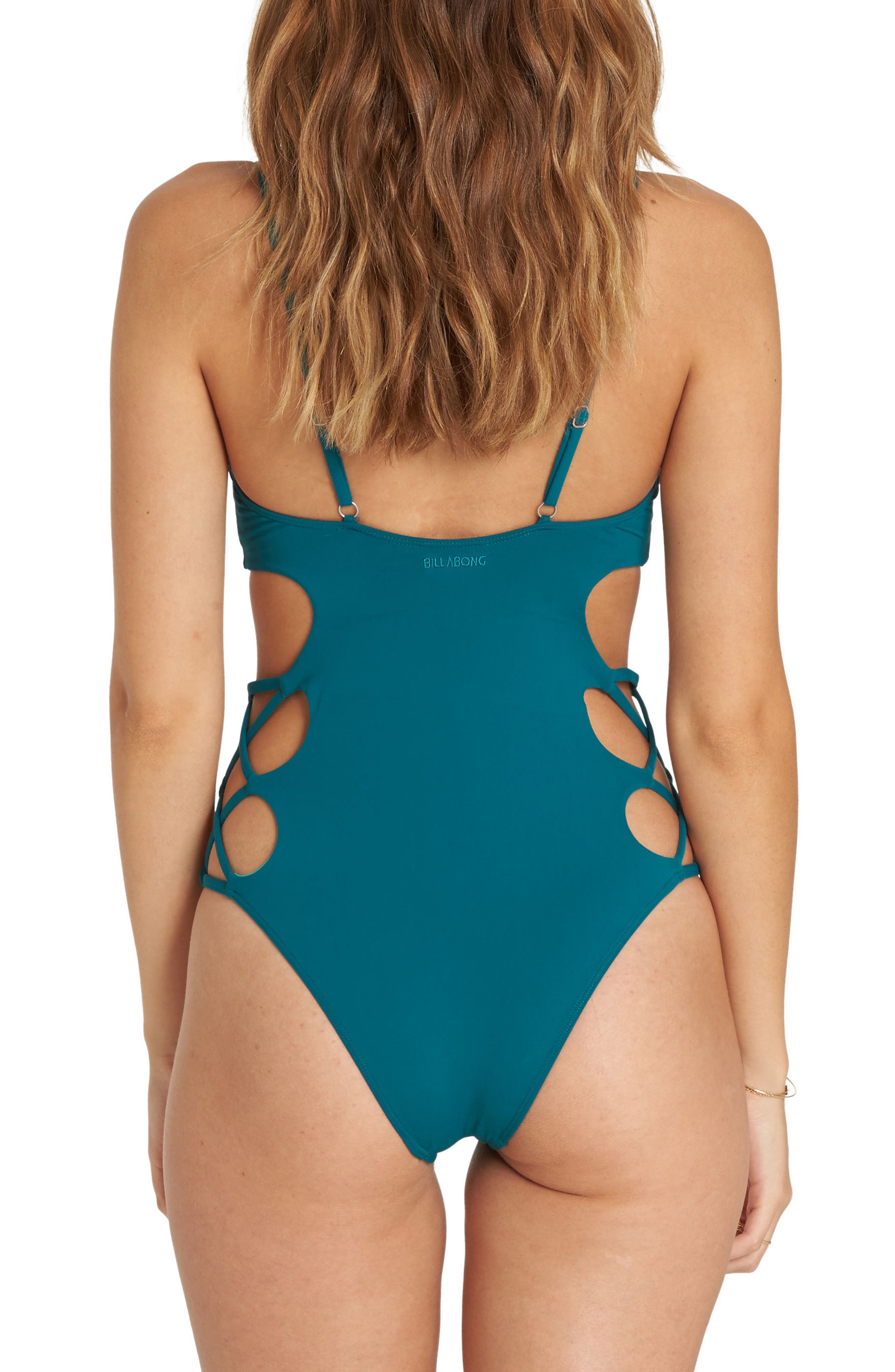 Sol Searcher One-Piece Swimsuit,                             Alternate thumbnail 7, color,