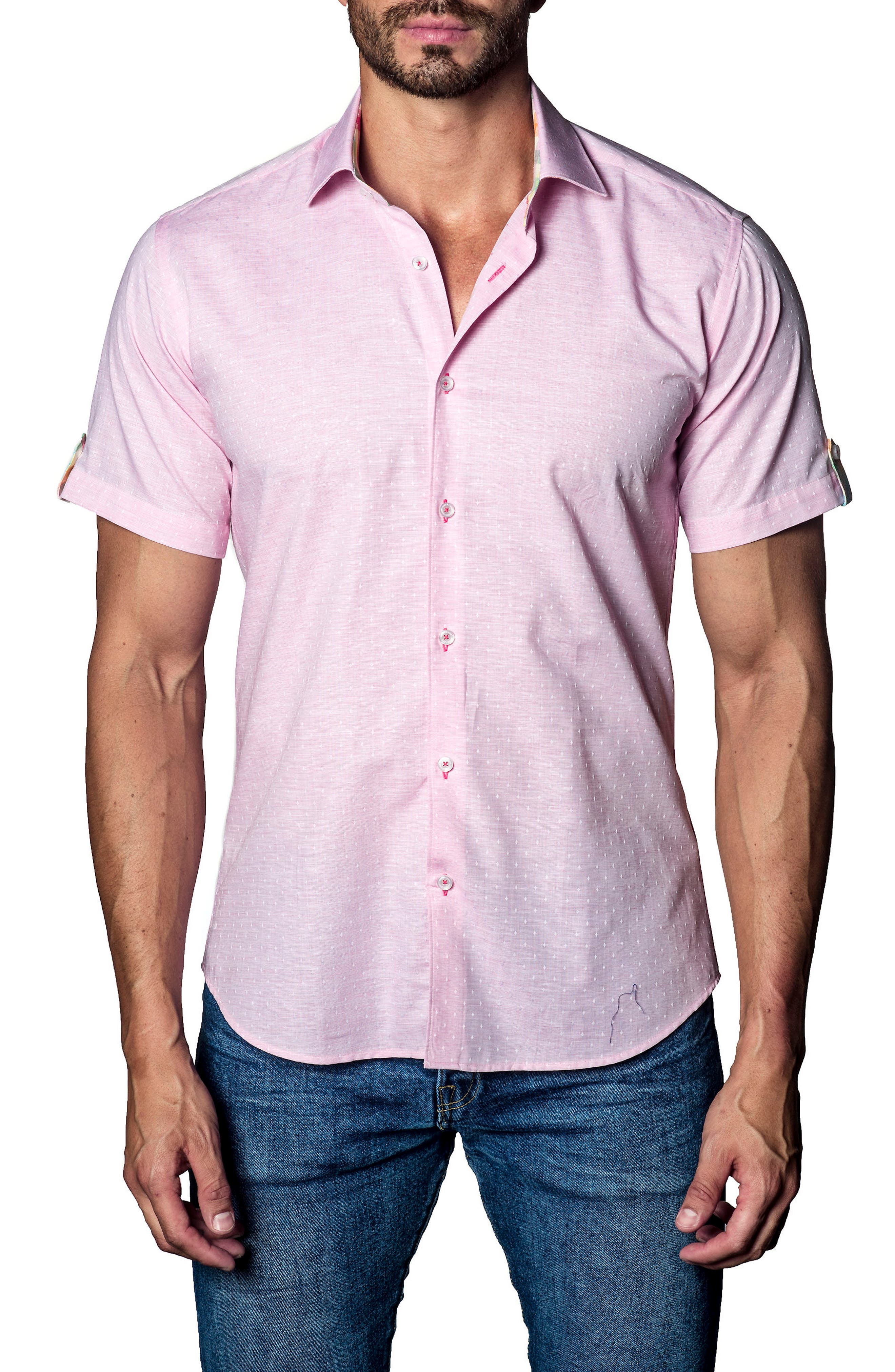 Print Sport Shirt,                             Main thumbnail 1, color,                             850