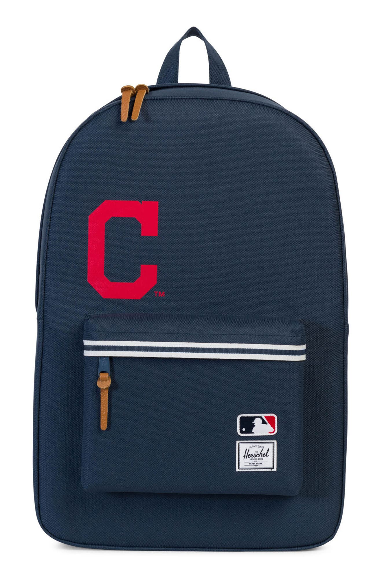 Heritage Cleveland Indians Backpack,                             Main thumbnail 1, color,                             469