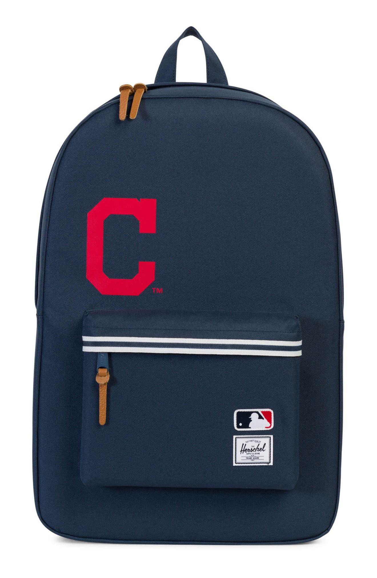 Heritage Cleveland Indians Backpack,                         Main,                         color, 469