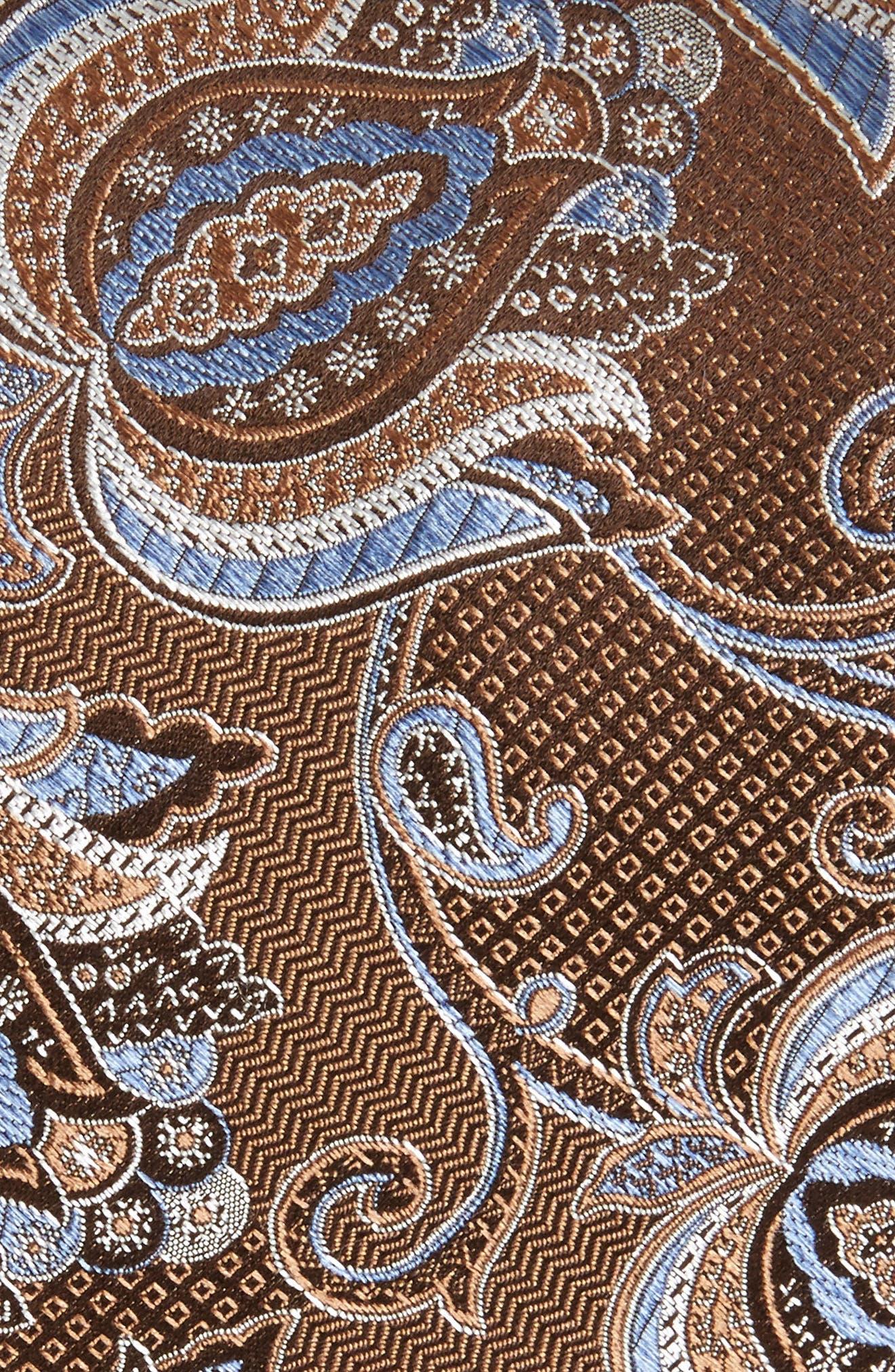 Paisley Silk Tie,                             Alternate thumbnail 2, color,                             200