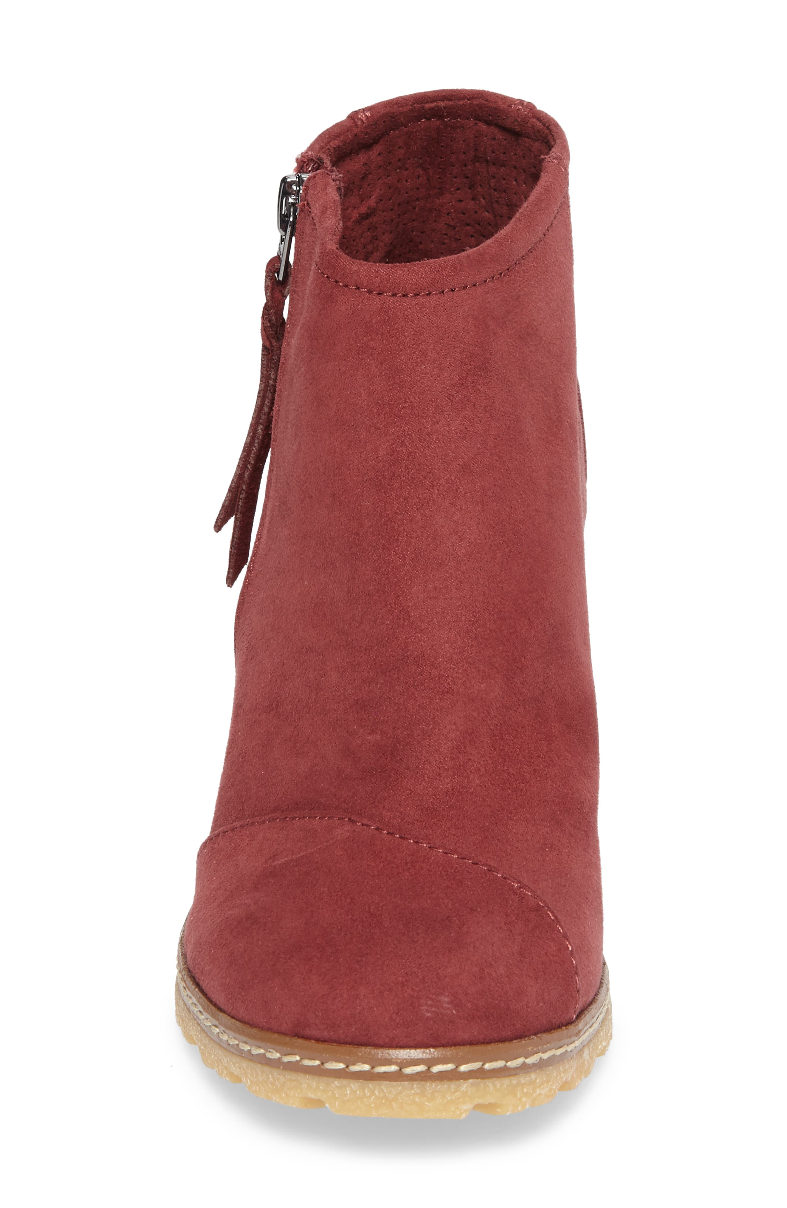 Avery Wedge Bootie,                             Alternate thumbnail 16, color,