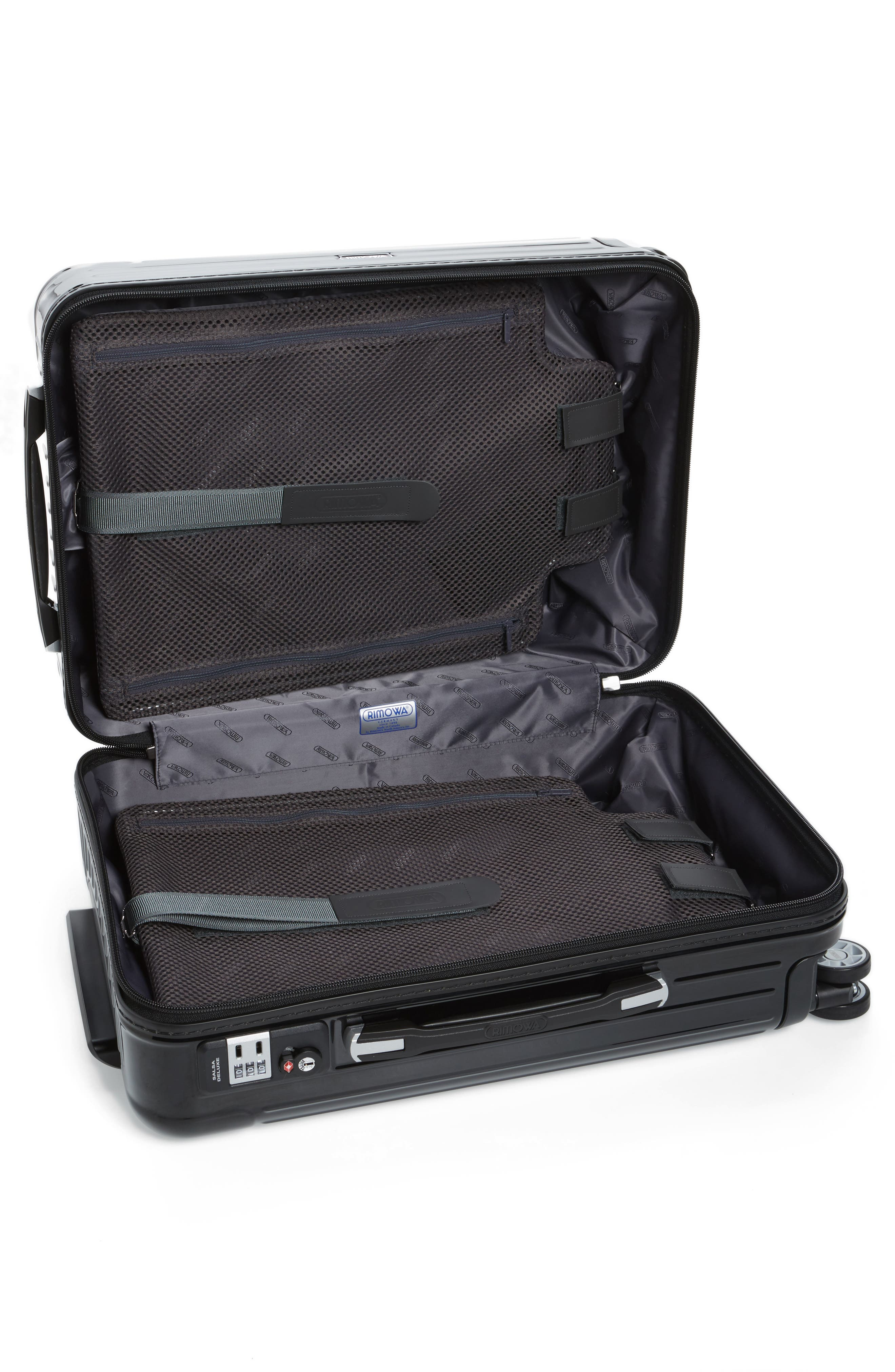 Salsa Deluxe 22-Inch Cabin Multiwheel<sup>®</sup> Carry-On,                             Alternate thumbnail 2, color,                             001
