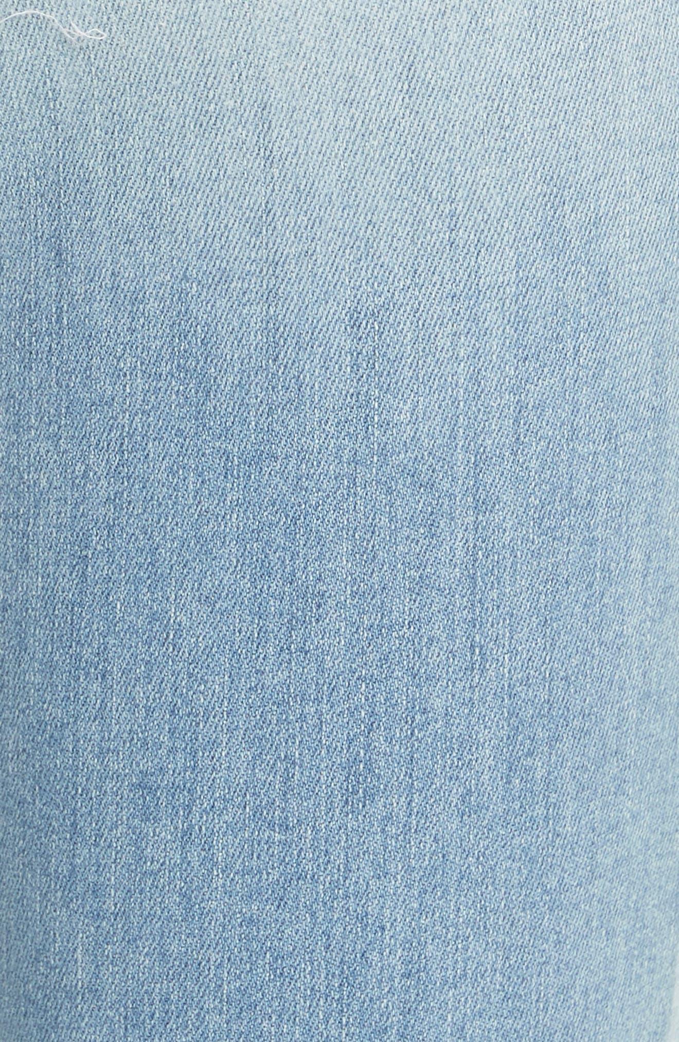 Le High Skinny Jeans,                             Alternate thumbnail 5, color,                             450