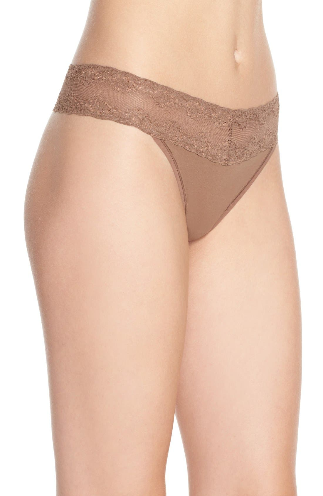Bliss Perfection Thong,                             Alternate thumbnail 247, color,