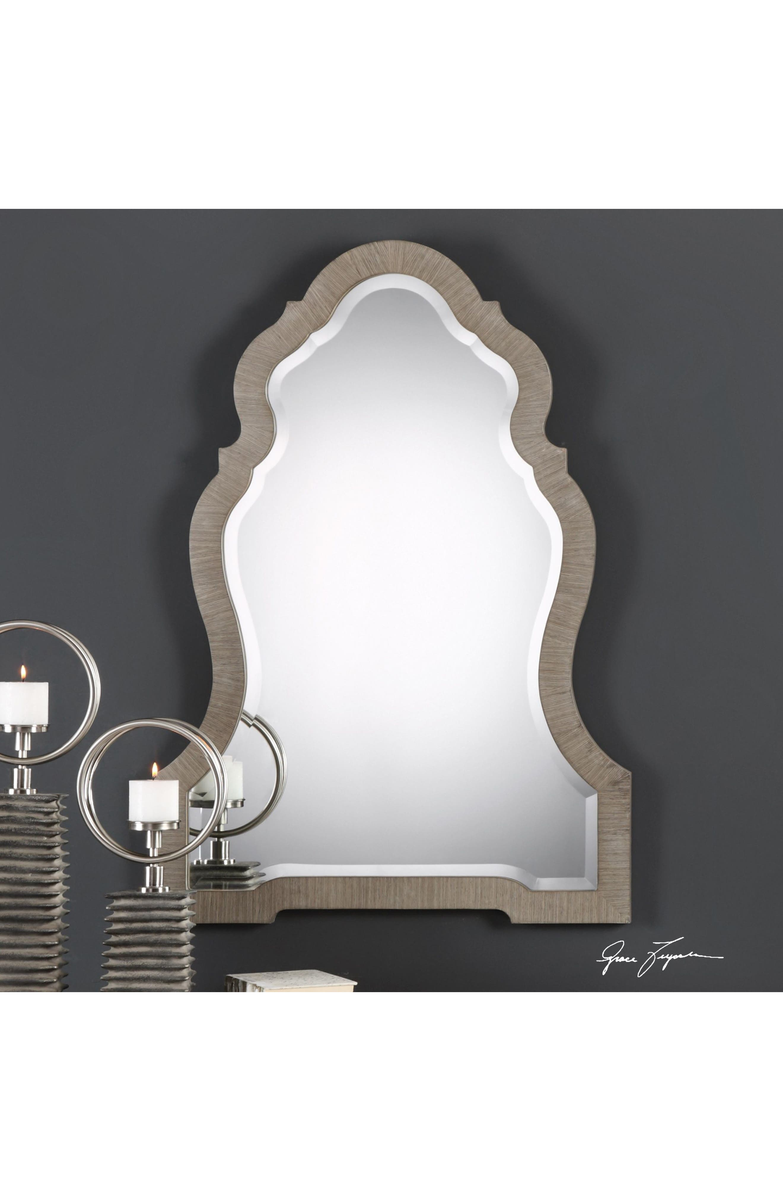Carroll Wall Mirror,                             Alternate thumbnail 2, color,                             040