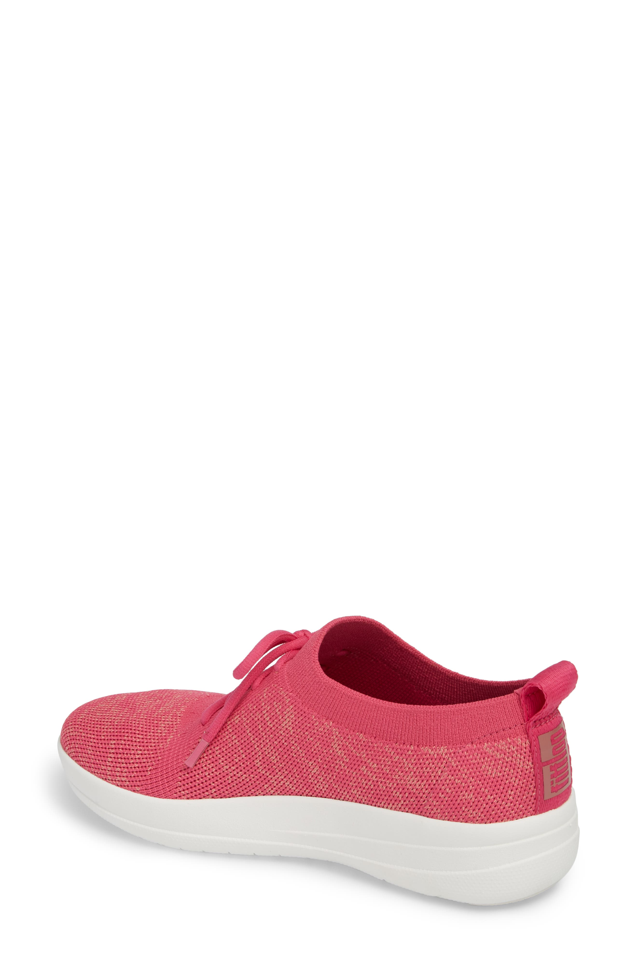 F-Sporty Uberknit<sup>™</sup> Sneaker,                             Alternate thumbnail 2, color,                             FUCHSIA/ DUSTY PINK