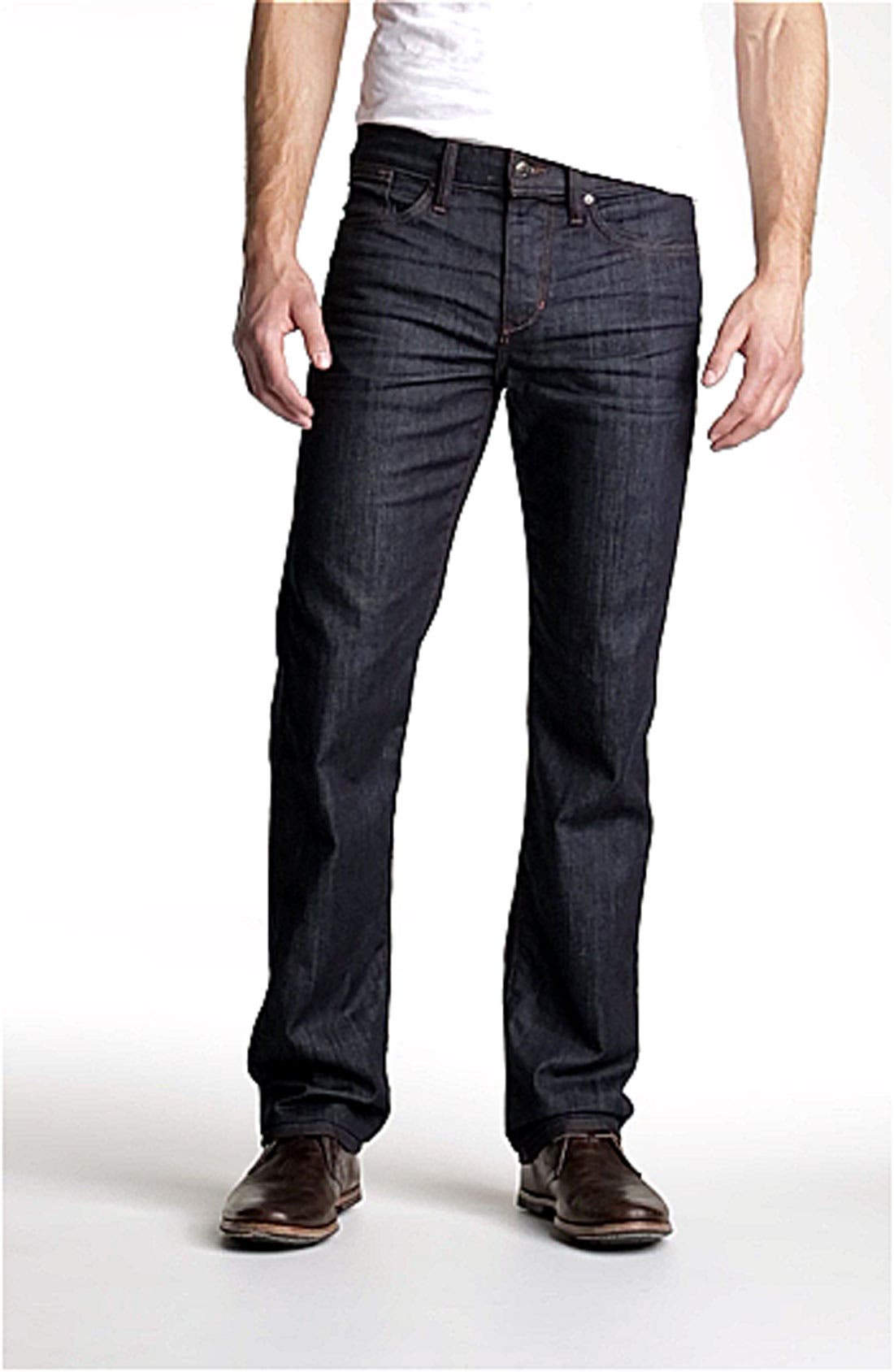 Classic Straight Leg Jeans,                             Alternate thumbnail 11, color,                             DAKOTA