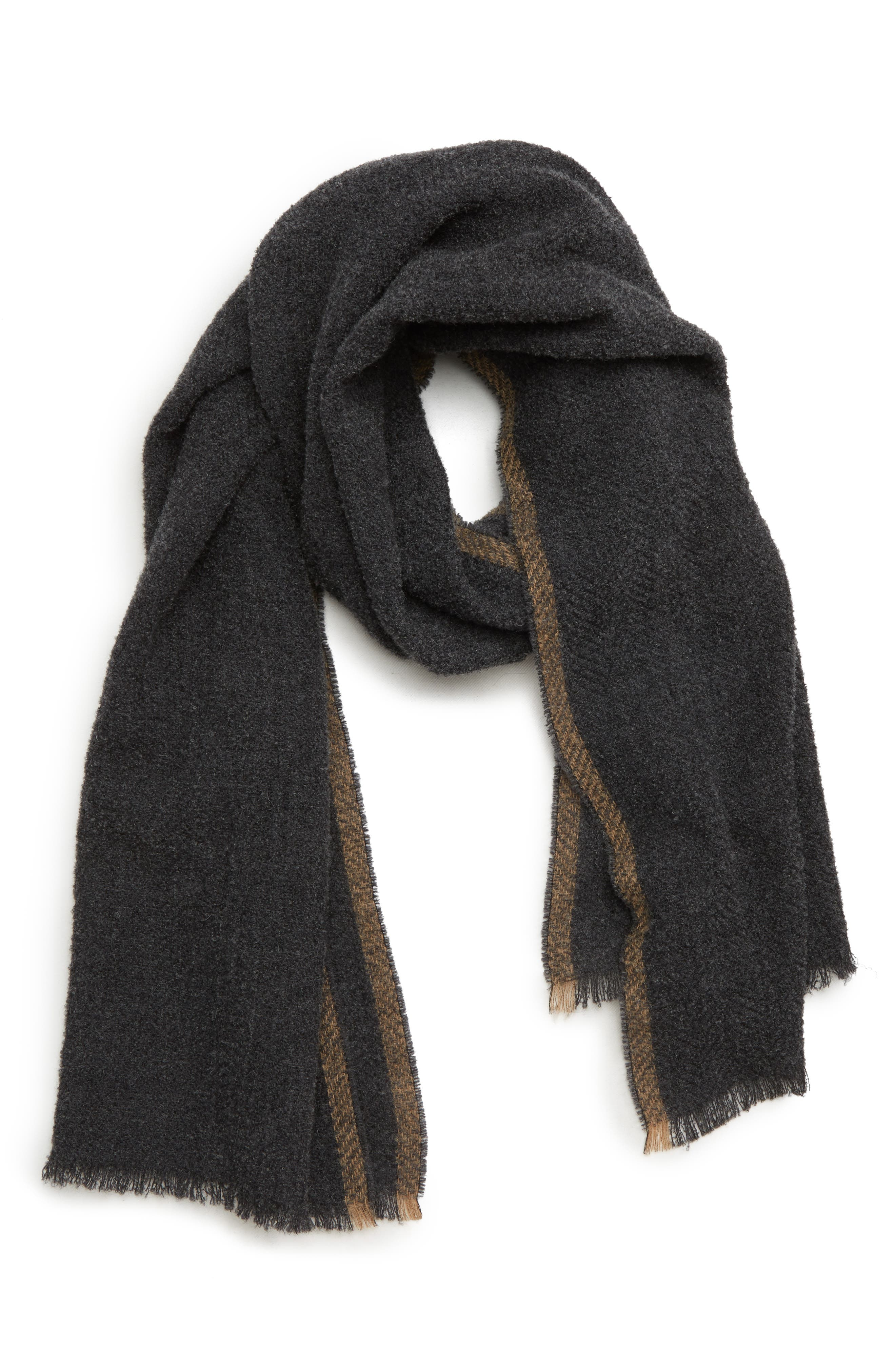Wool Bouclé Scarf,                         Main,                         color, 030