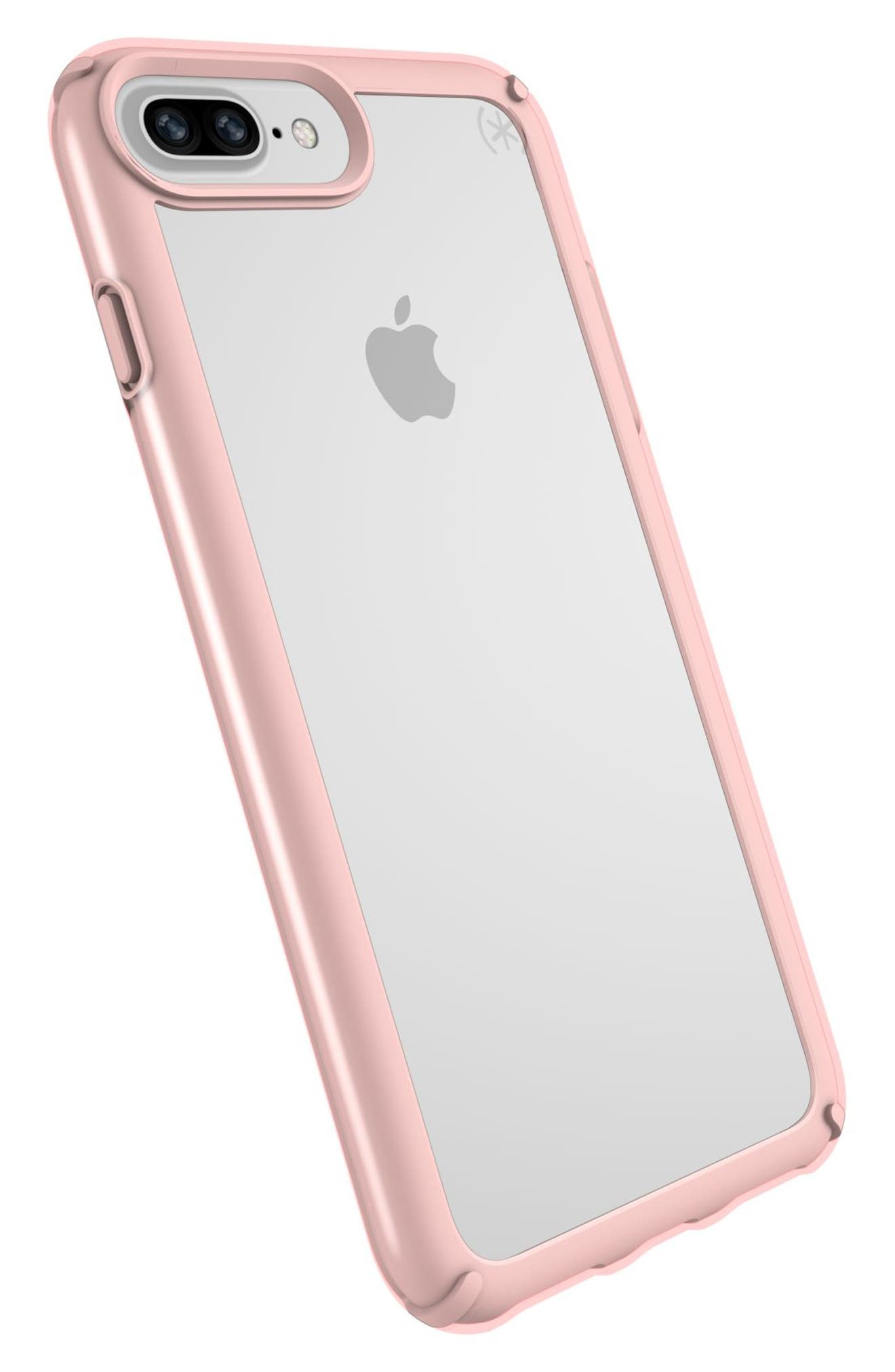 iPhone 6/6s/7/8 Plus Case,                             Alternate thumbnail 8, color,                             CLEAR/ ROSE GOLD