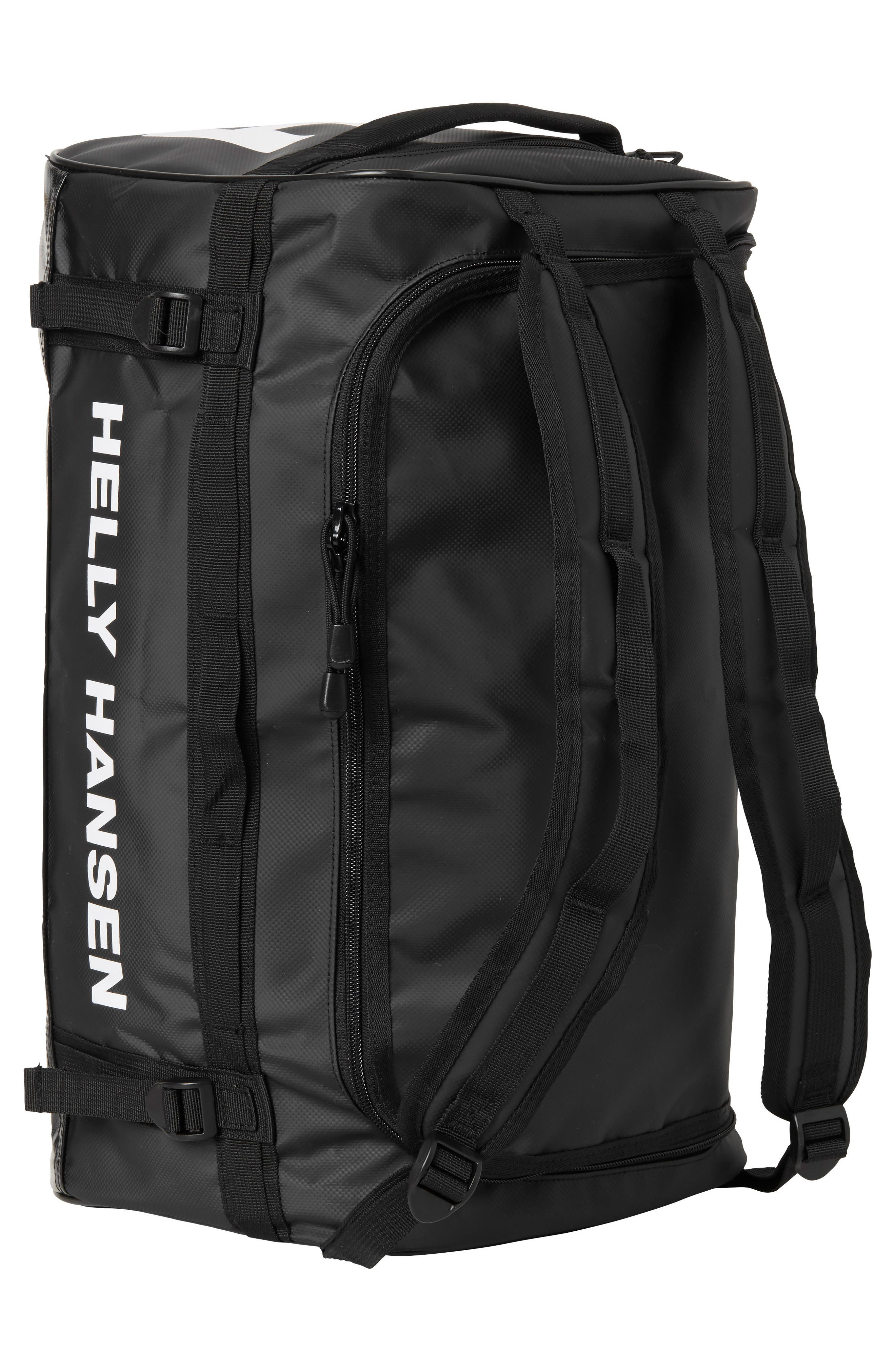 New Classic Extra Small Duffel Bag,                             Alternate thumbnail 4, color,                             BLACK