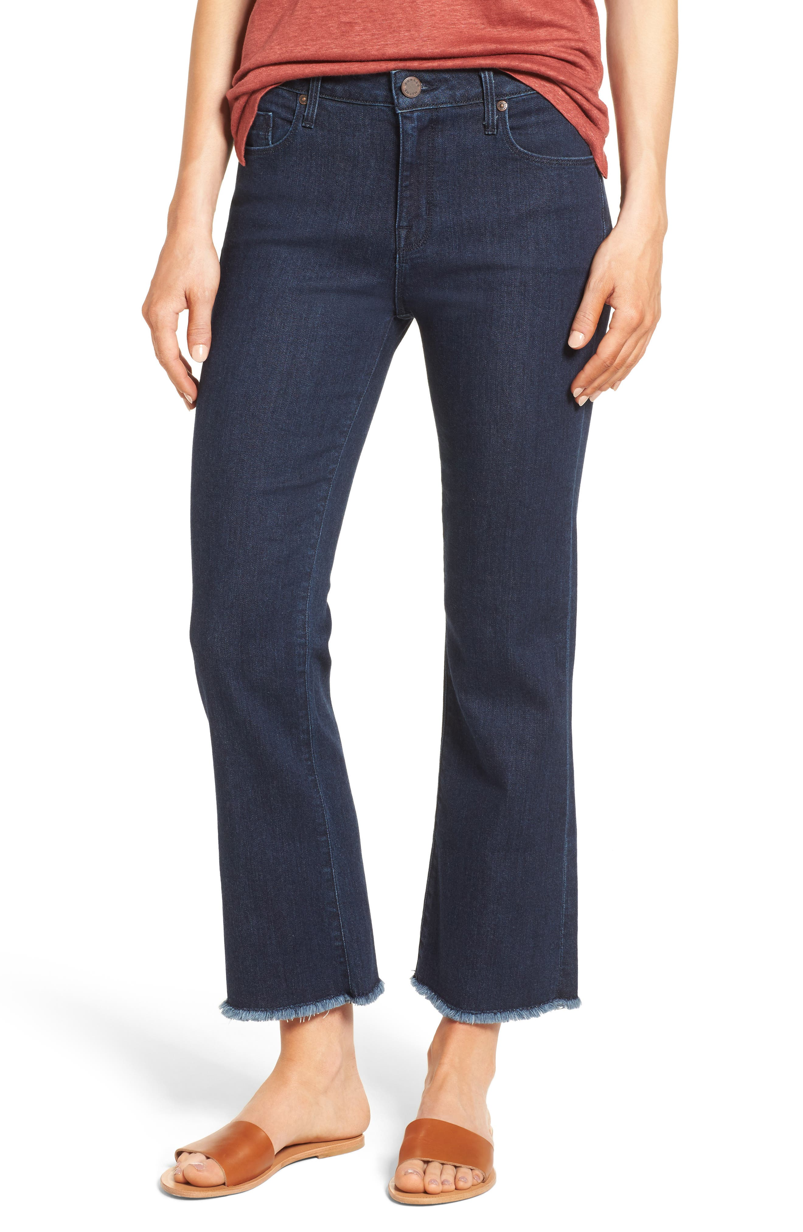Brynna Crop Flare Jeans,                             Main thumbnail 1, color,