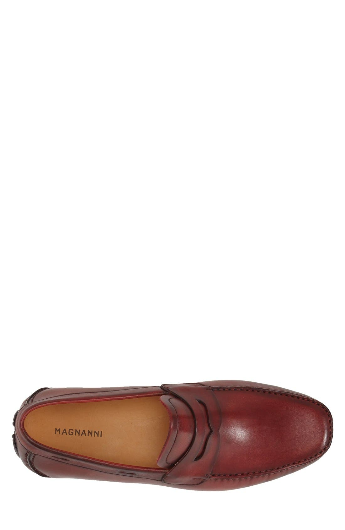 'Dylan' Leather Driving Shoe,                             Alternate thumbnail 12, color,
