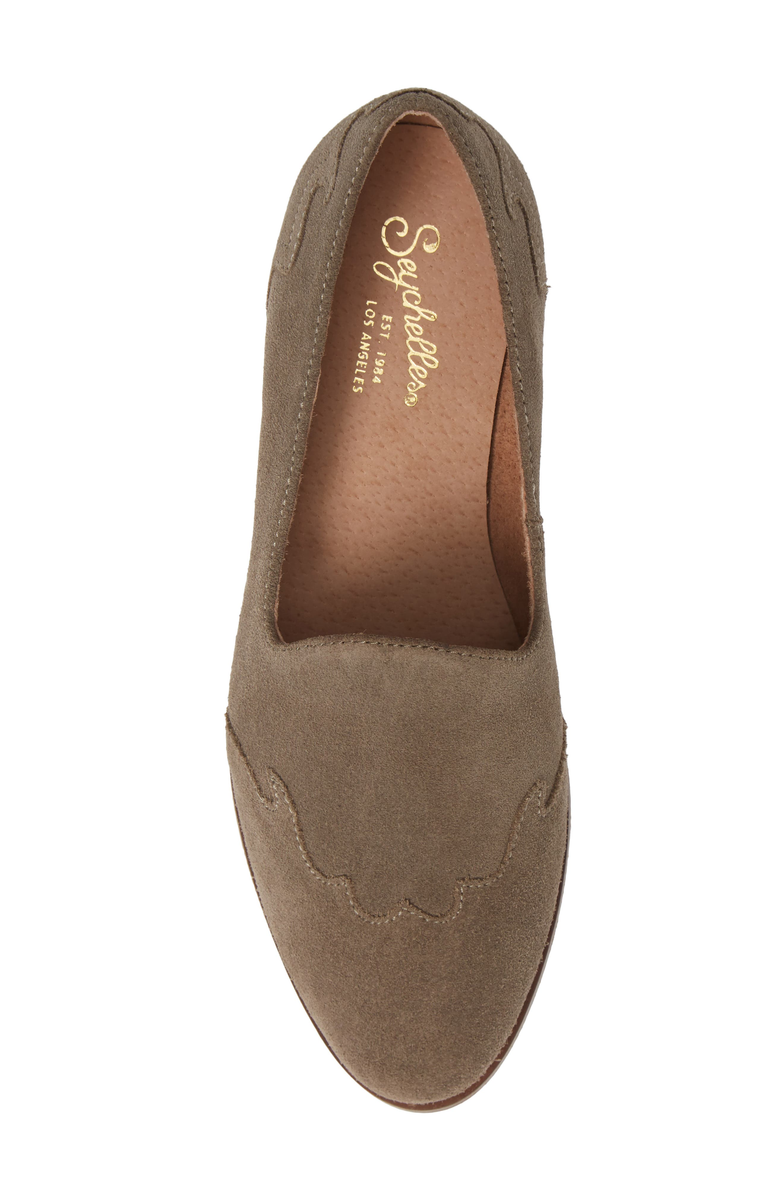 Revolution Loafer,                             Alternate thumbnail 5, color,                             TAUPE SUEDE