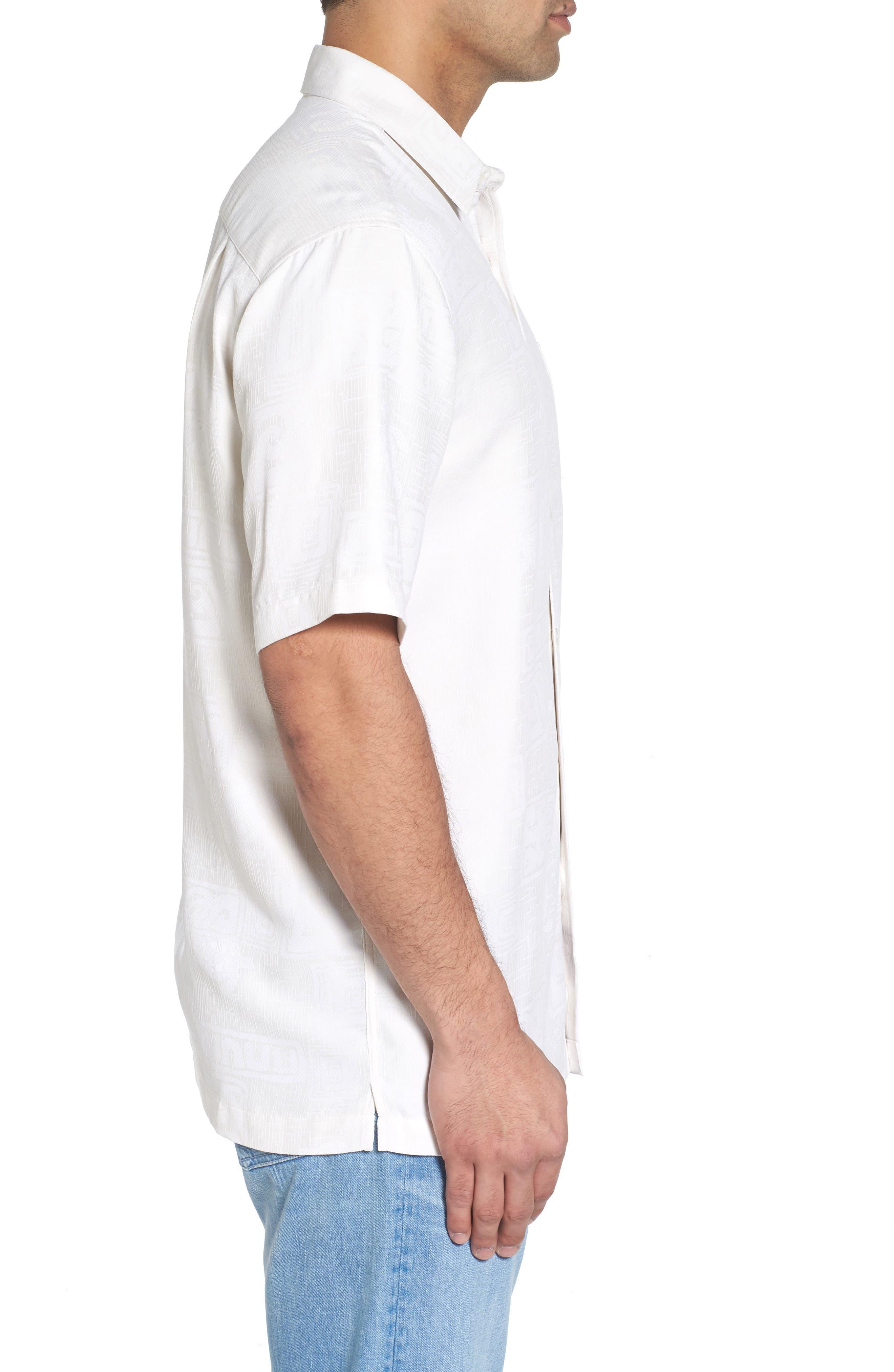 Sea Shells Classic Fit Sport Shirt,                             Alternate thumbnail 8, color,