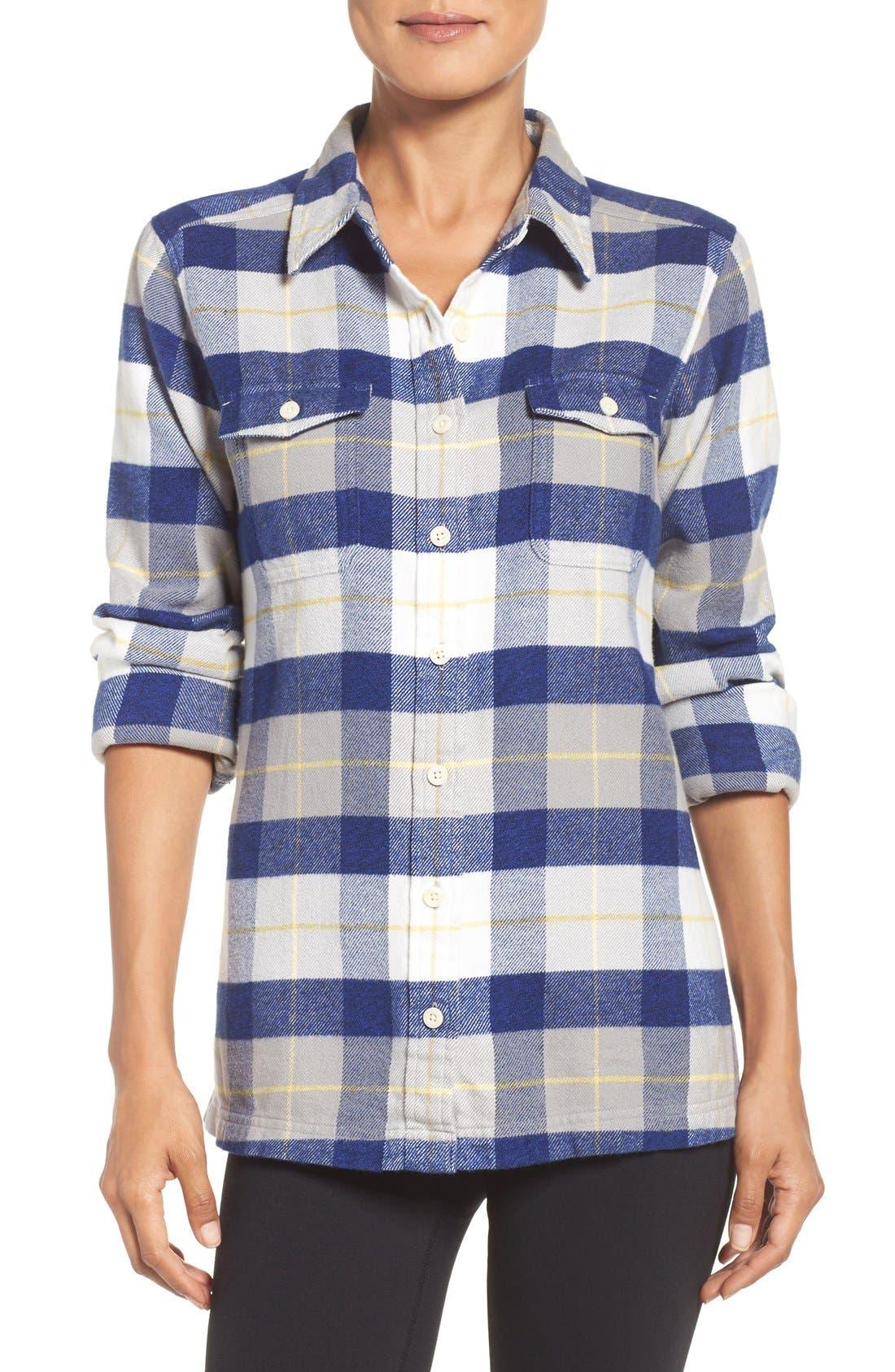 'Fjord' Flannel Shirt,                             Main thumbnail 11, color,
