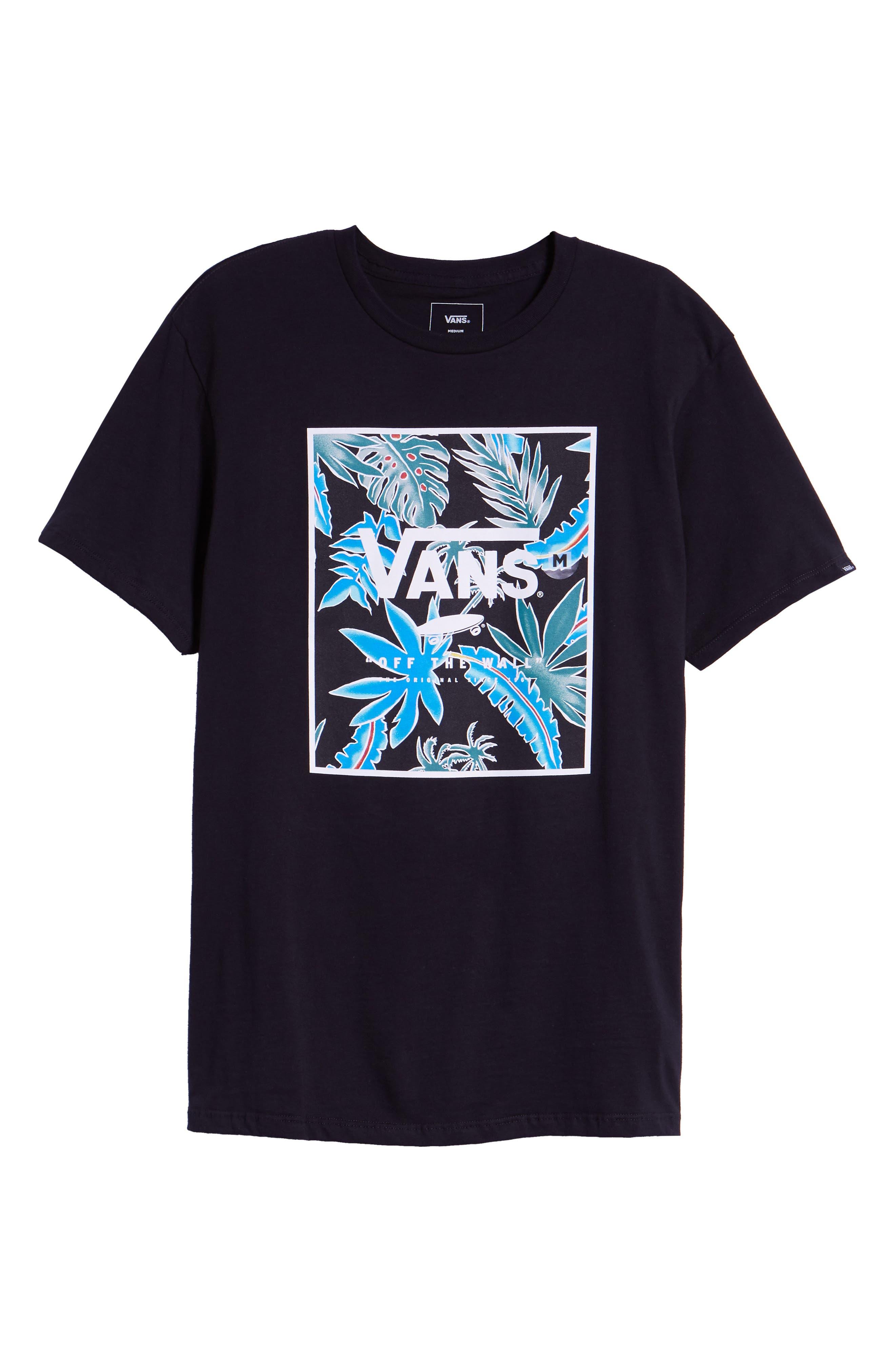 Logo Box T-Shirt,                             Alternate thumbnail 6, color,                             001