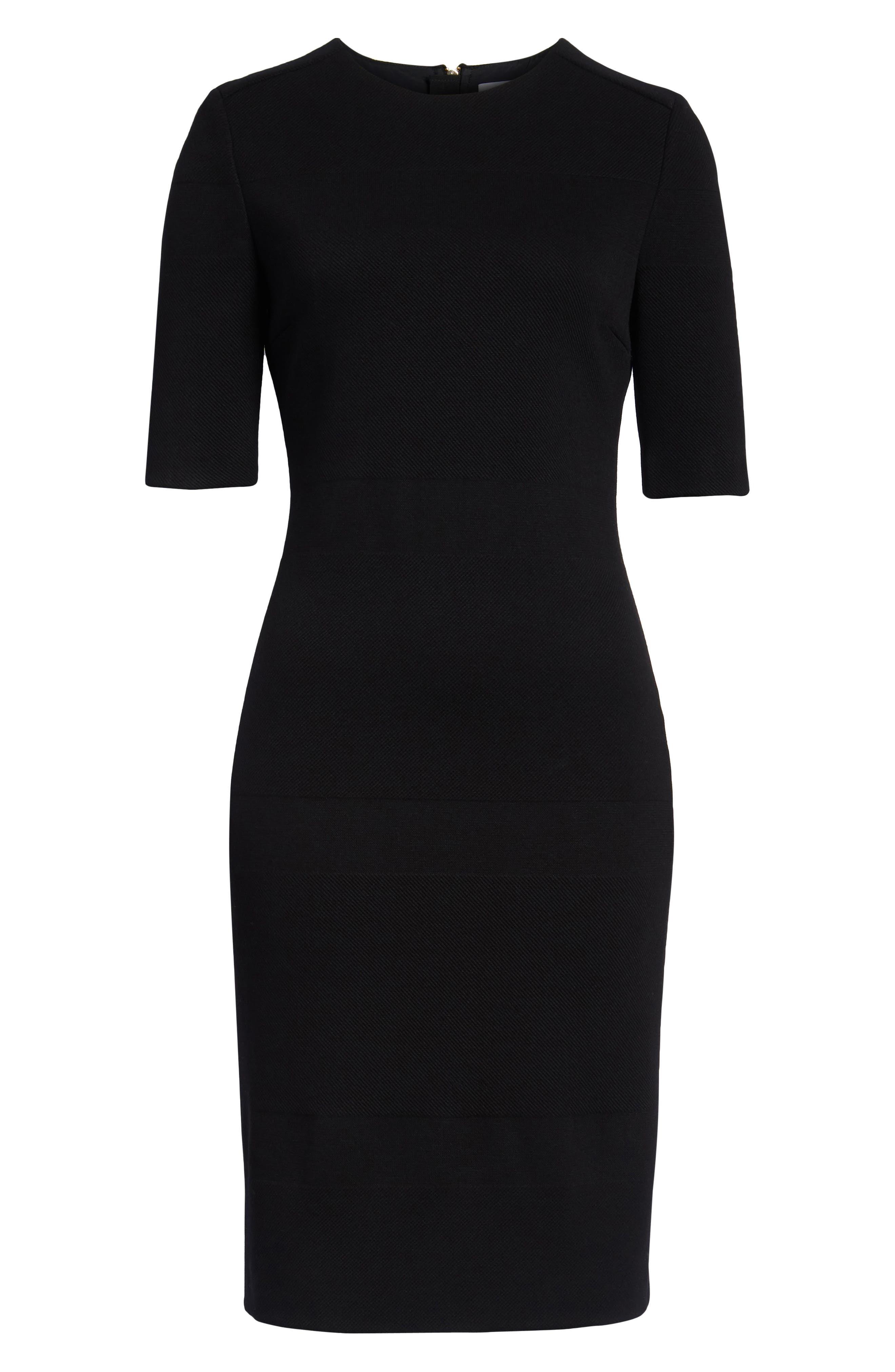 Hibela Sheath Dress,                             Alternate thumbnail 6, color,                             006