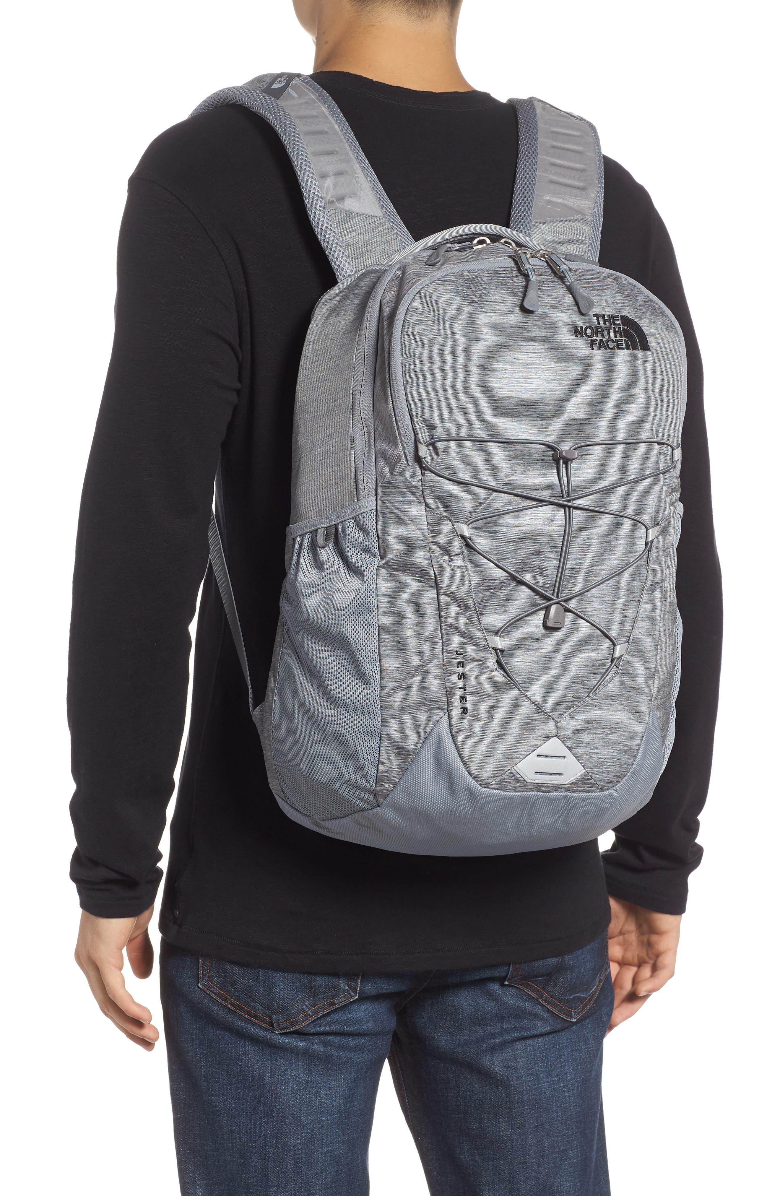 Jester Backpack,                             Alternate thumbnail 2, color,                             GREY DARK HEATHER/ TNF BLACK