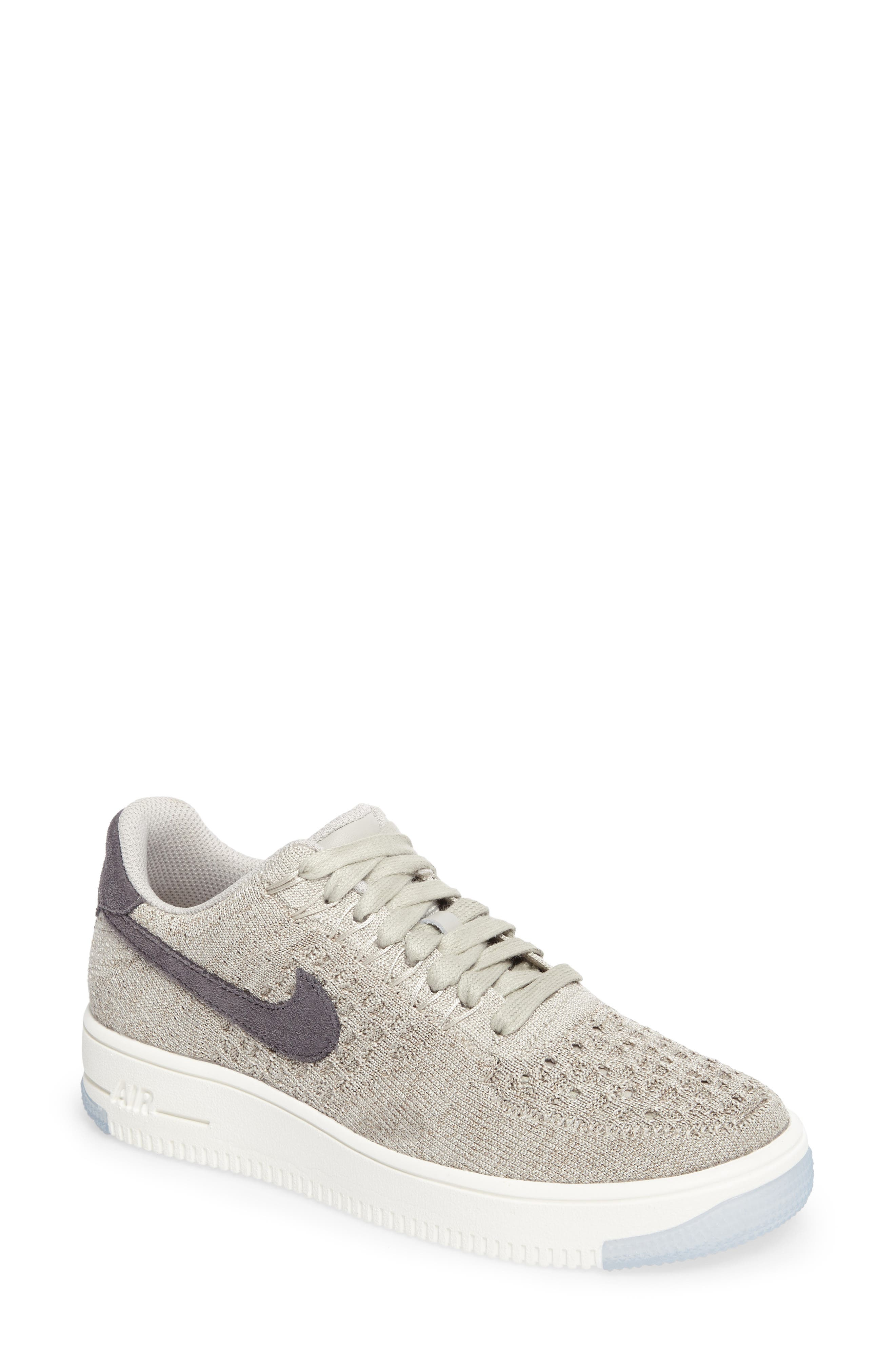 'Air Force 1 Flyknit Low' Sneaker,                             Main thumbnail 3, color,