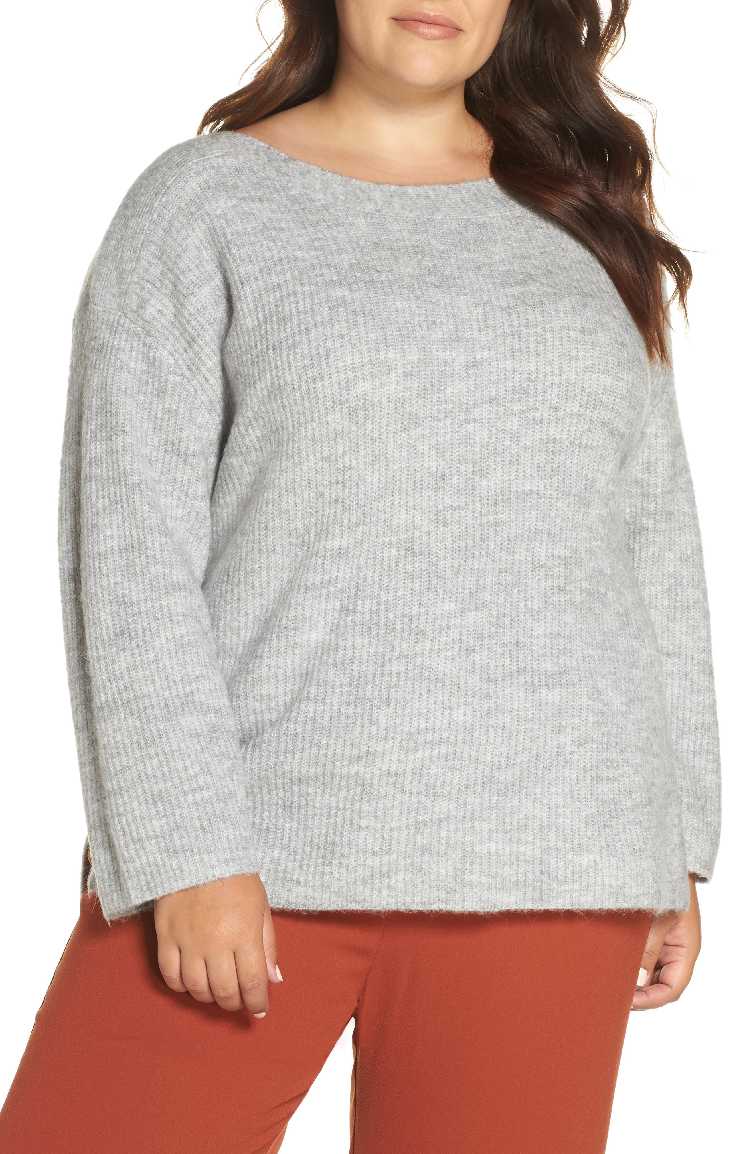Cozy Femme Pullover Sweater,                         Main,                         color, 031