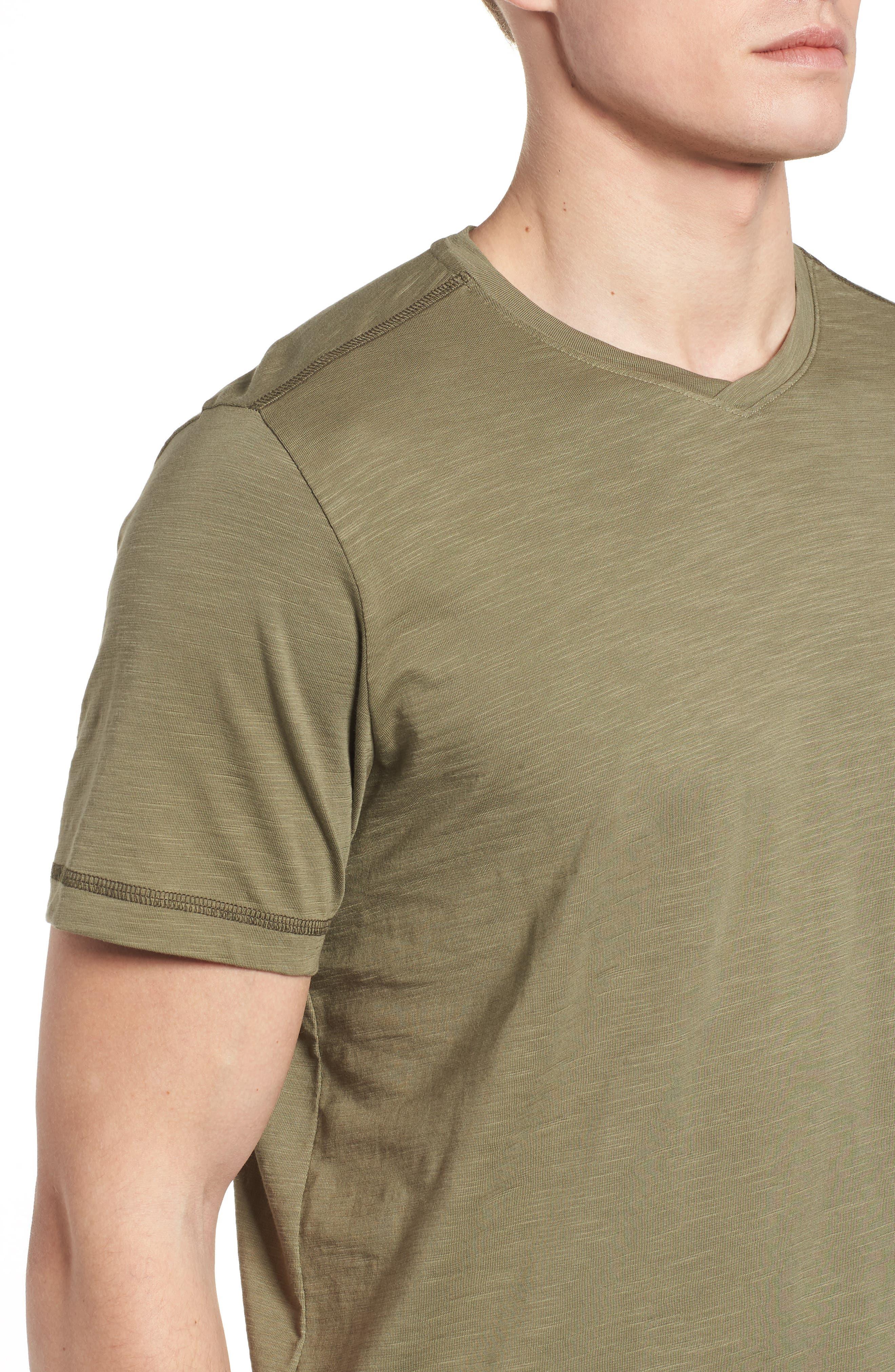 Portside Palms V-Neck T-Shirt,                             Alternate thumbnail 31, color,