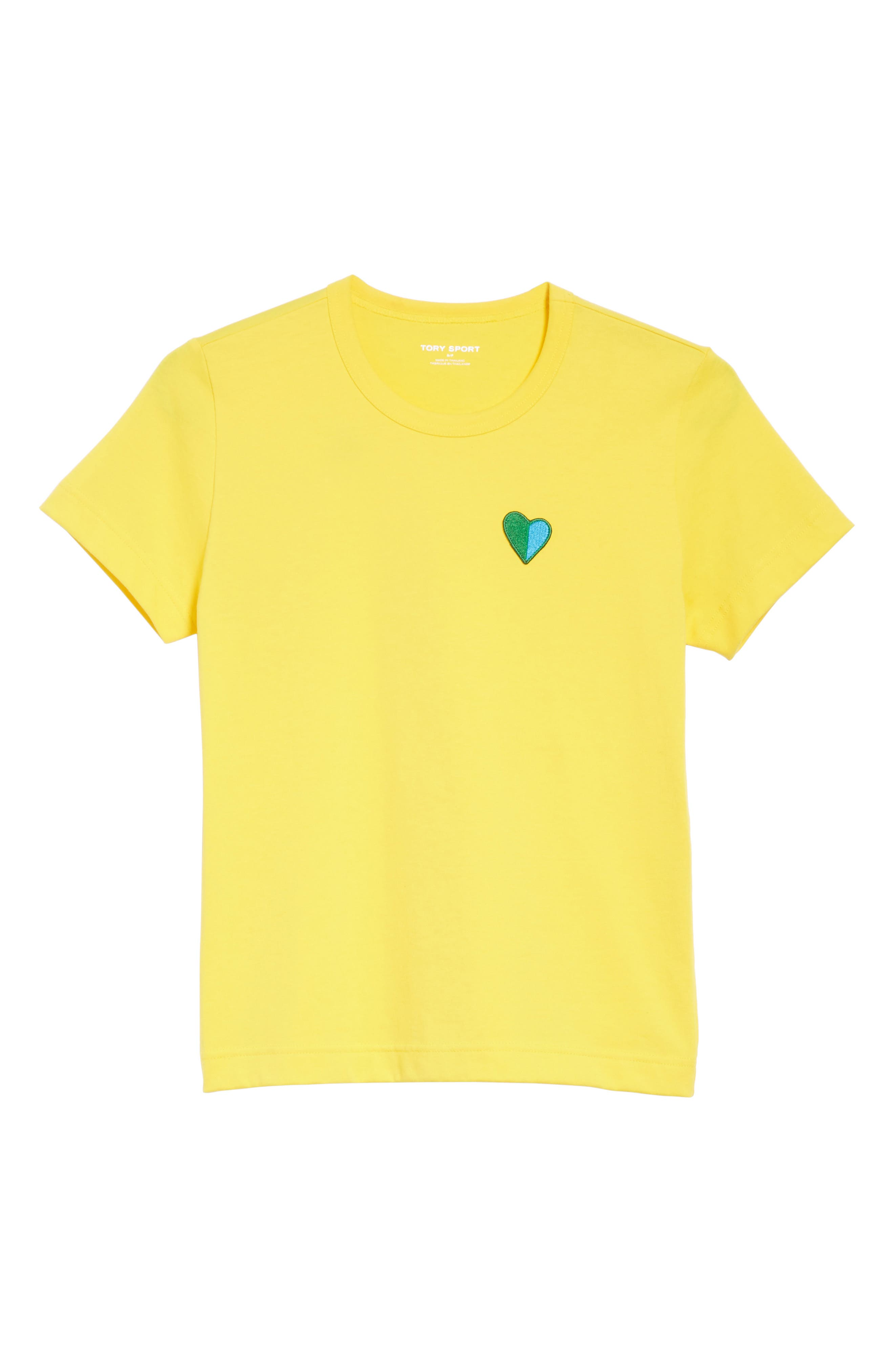 Heart Patch Tee,                             Alternate thumbnail 6, color,                             707