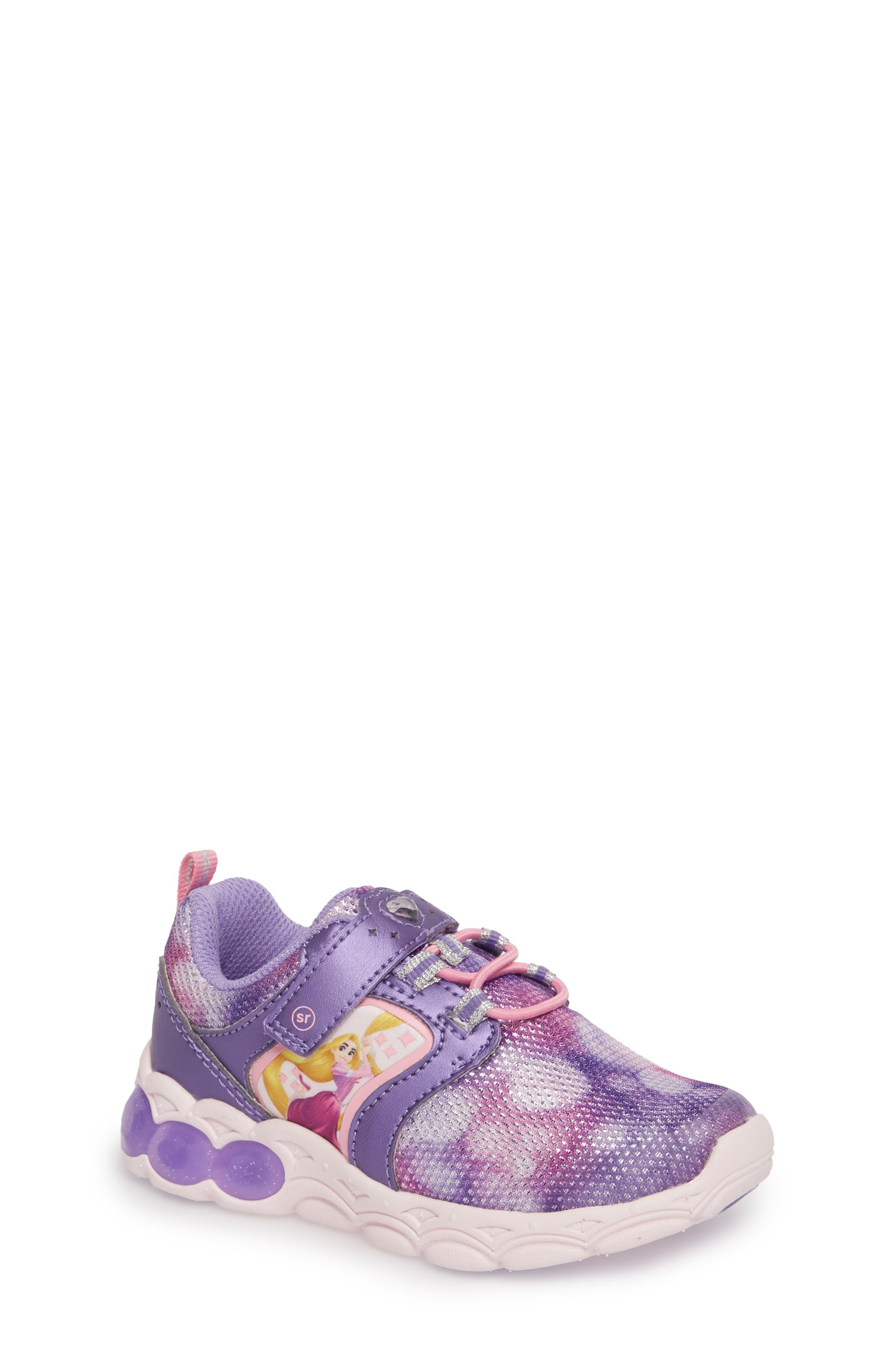 Disney<sup>®</sup> Rapunzel Adventurer Sneaker,                             Main thumbnail 1, color,