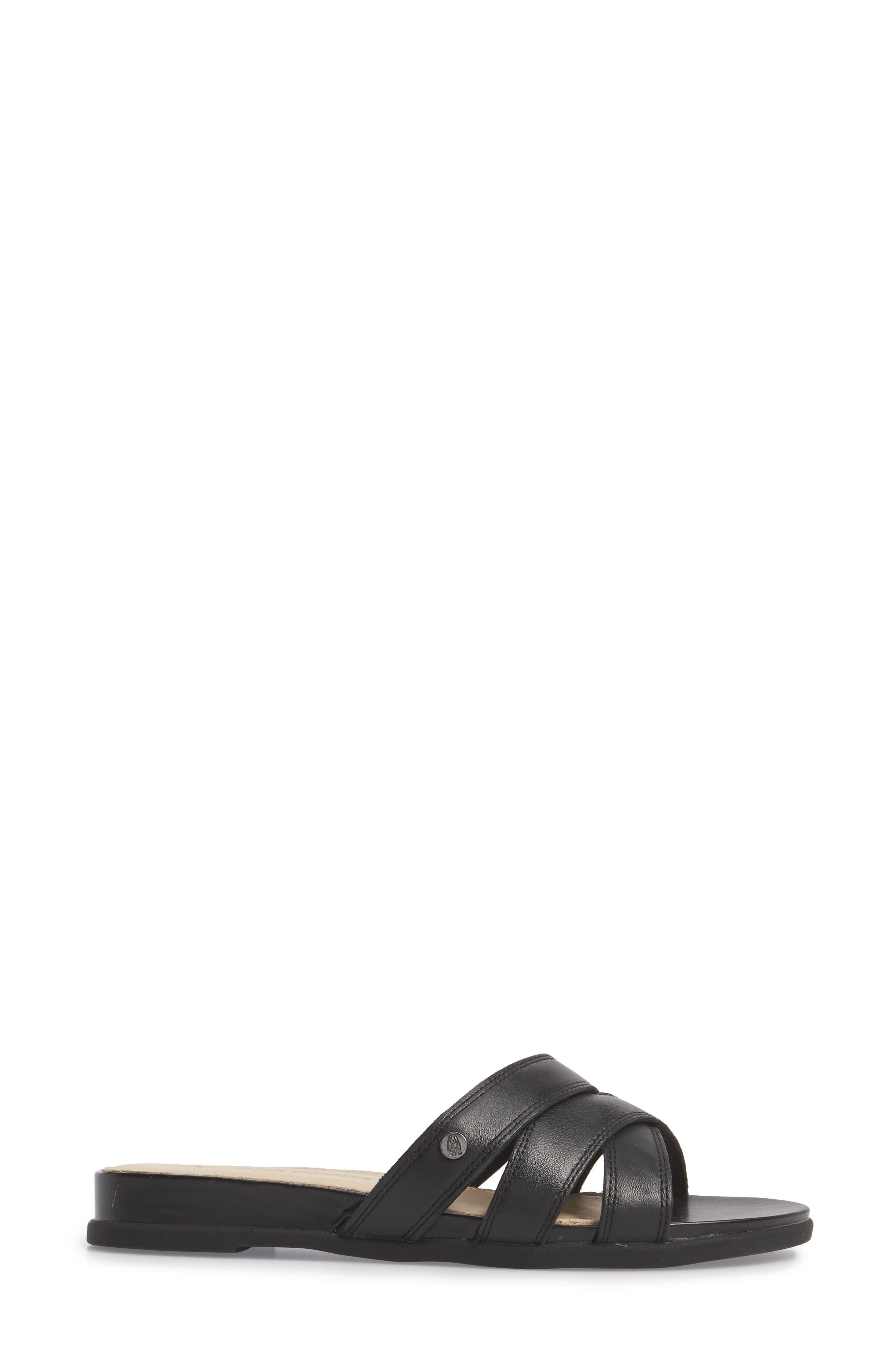 Dalmatian Slide Sandal,                             Alternate thumbnail 3, color,                             007