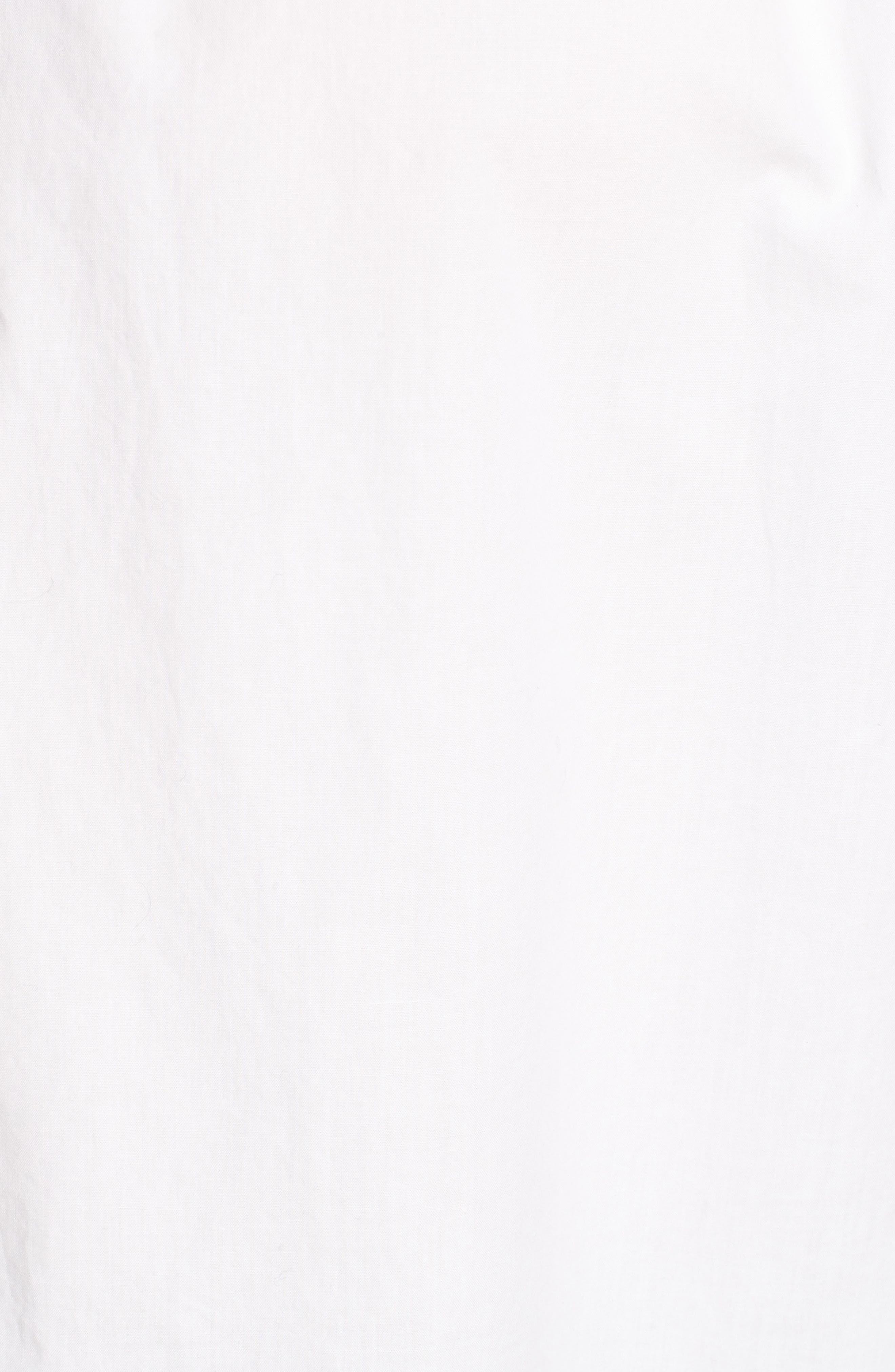 Ruffle Popover Shirt,                             Alternate thumbnail 5, color,                             101