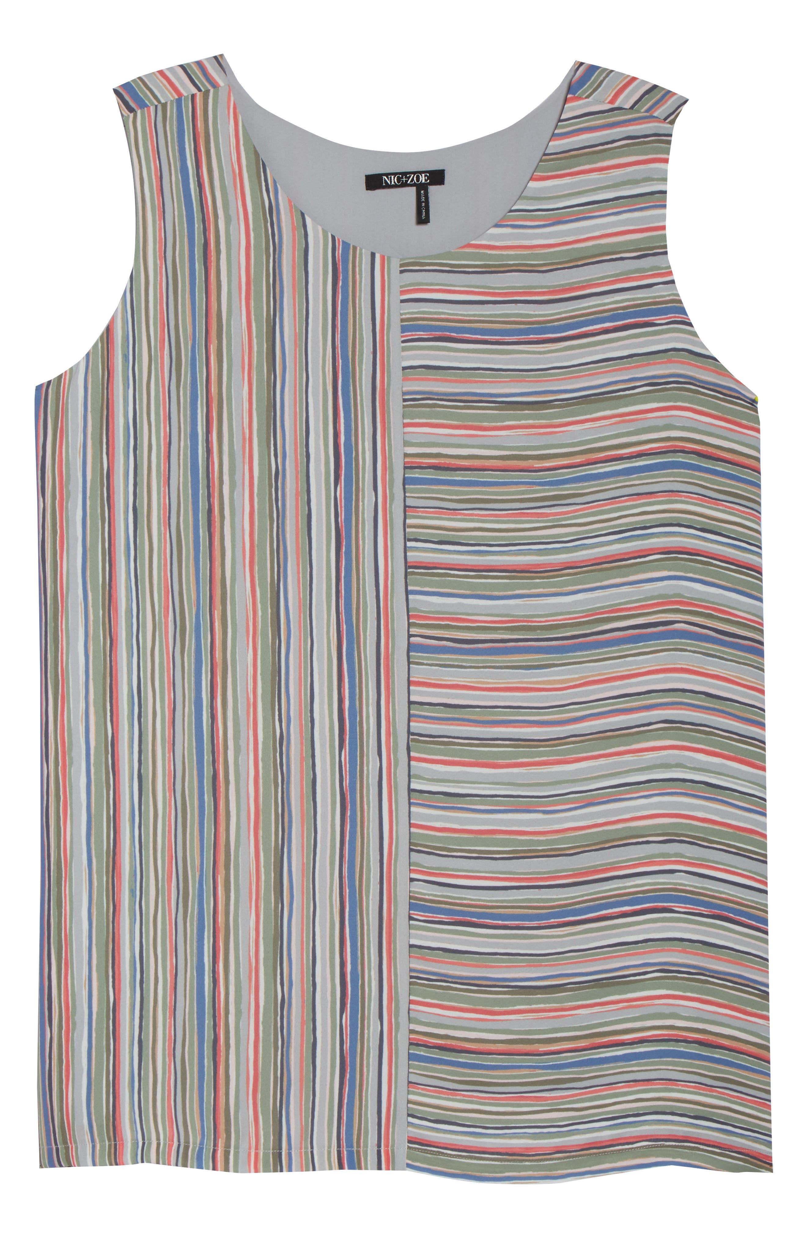 Cabana Stripe Tank,                             Alternate thumbnail 6, color,                             609