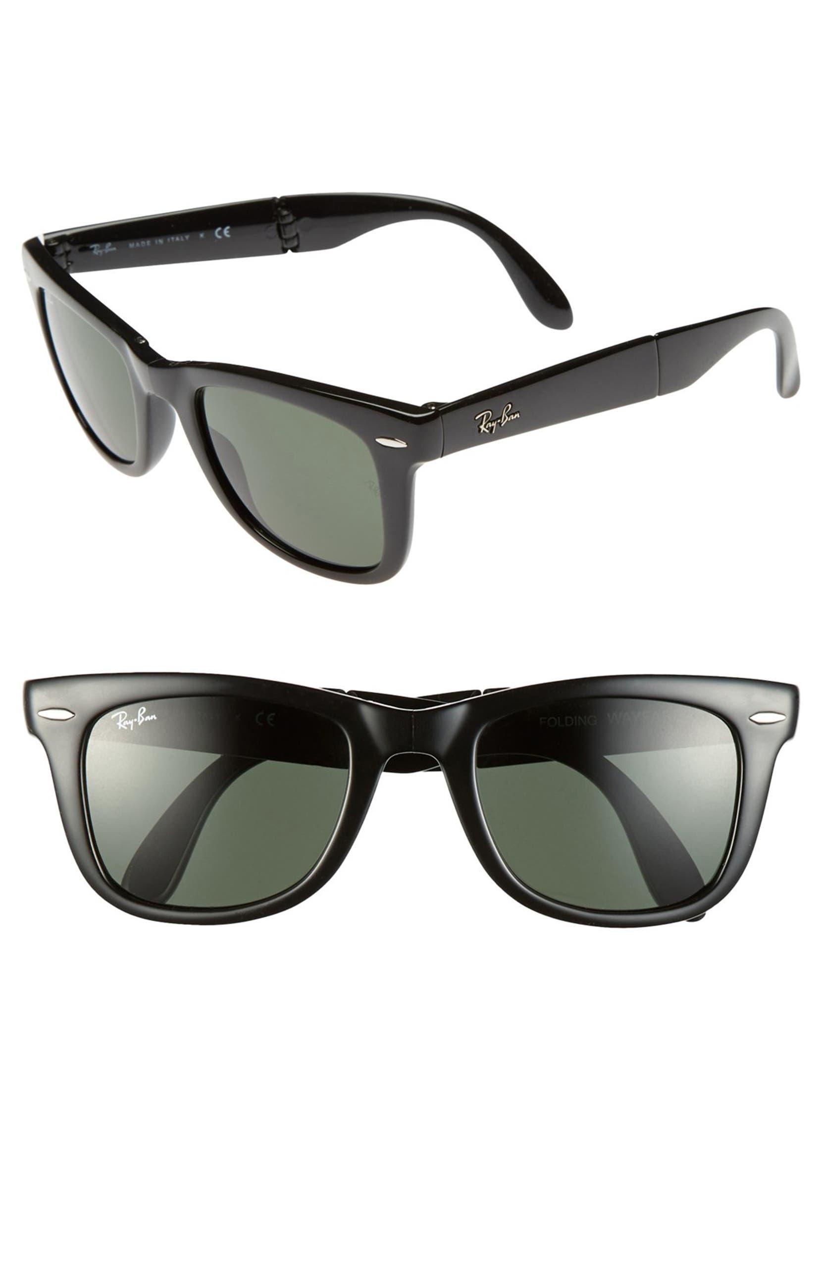 152c665d2a8 Ray-Ban Standard 50mm Folding Wayfarer Sunglasses