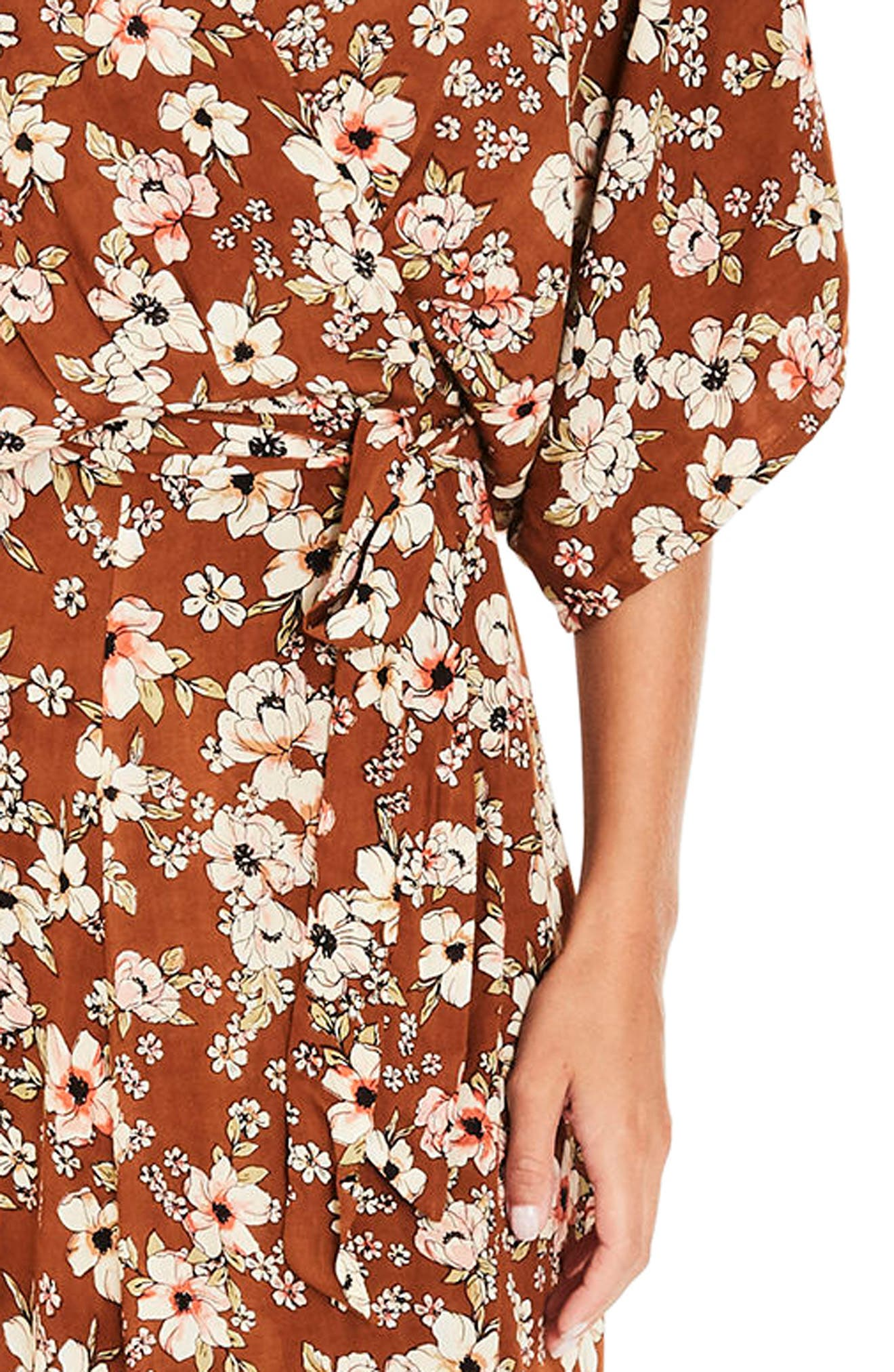 Bergamo Maxi Wrap Dress,                             Alternate thumbnail 4, color,                             650