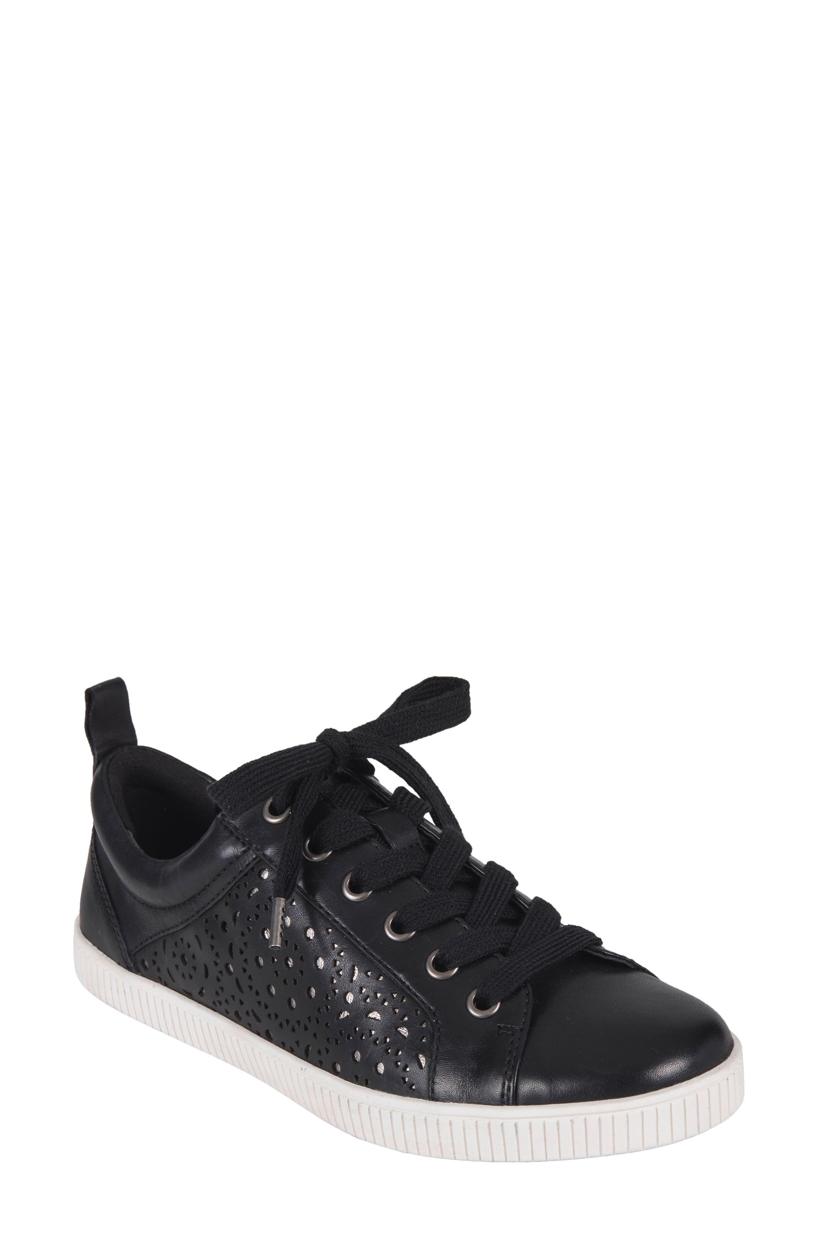 Tangor Perforated Sneaker,                             Main thumbnail 1, color,                             001