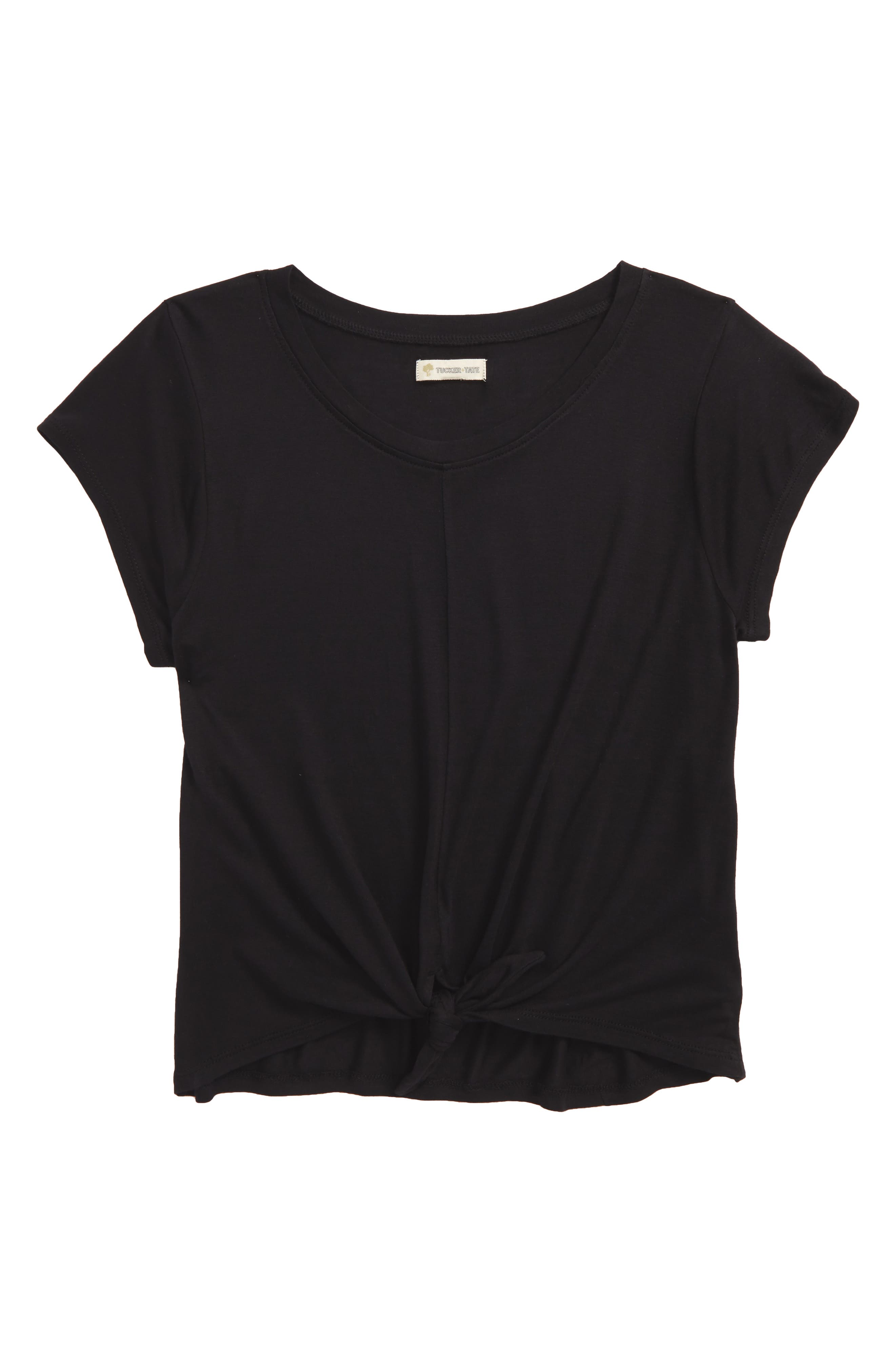 Knot Tee,                         Main,                         color, 001