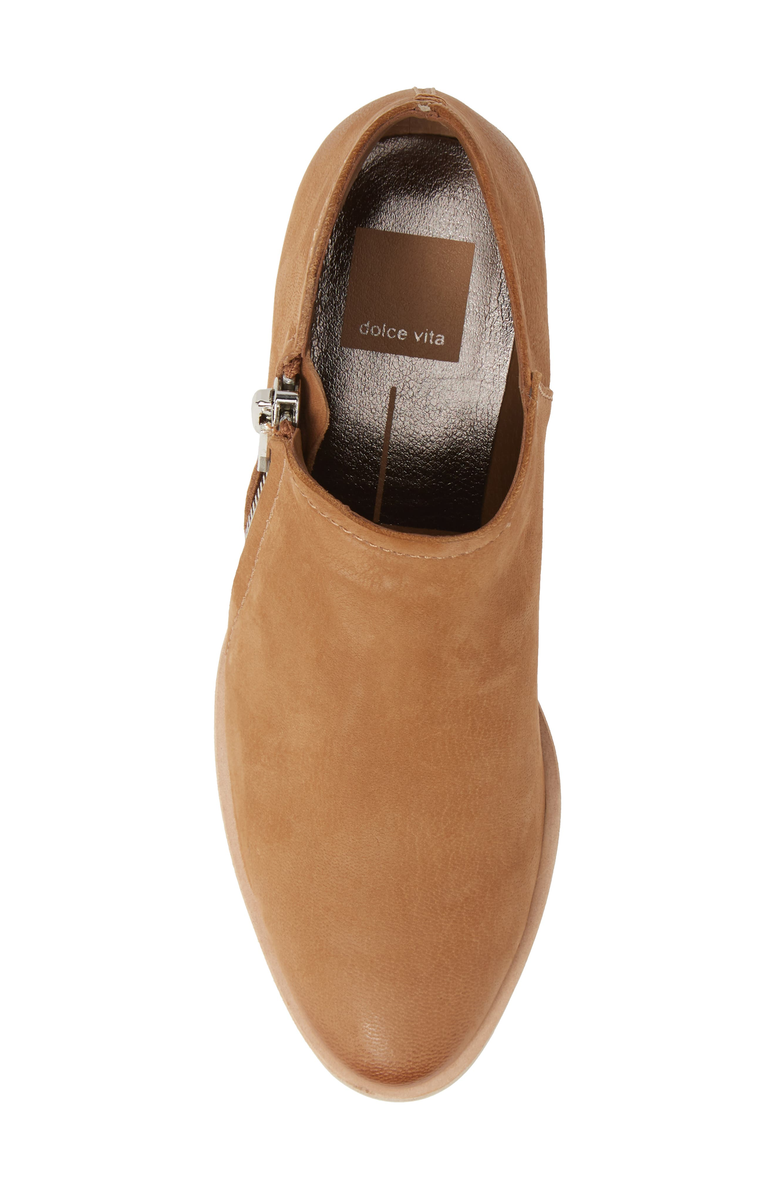 Trent Bootie,                             Alternate thumbnail 5, color,                             TAUPE