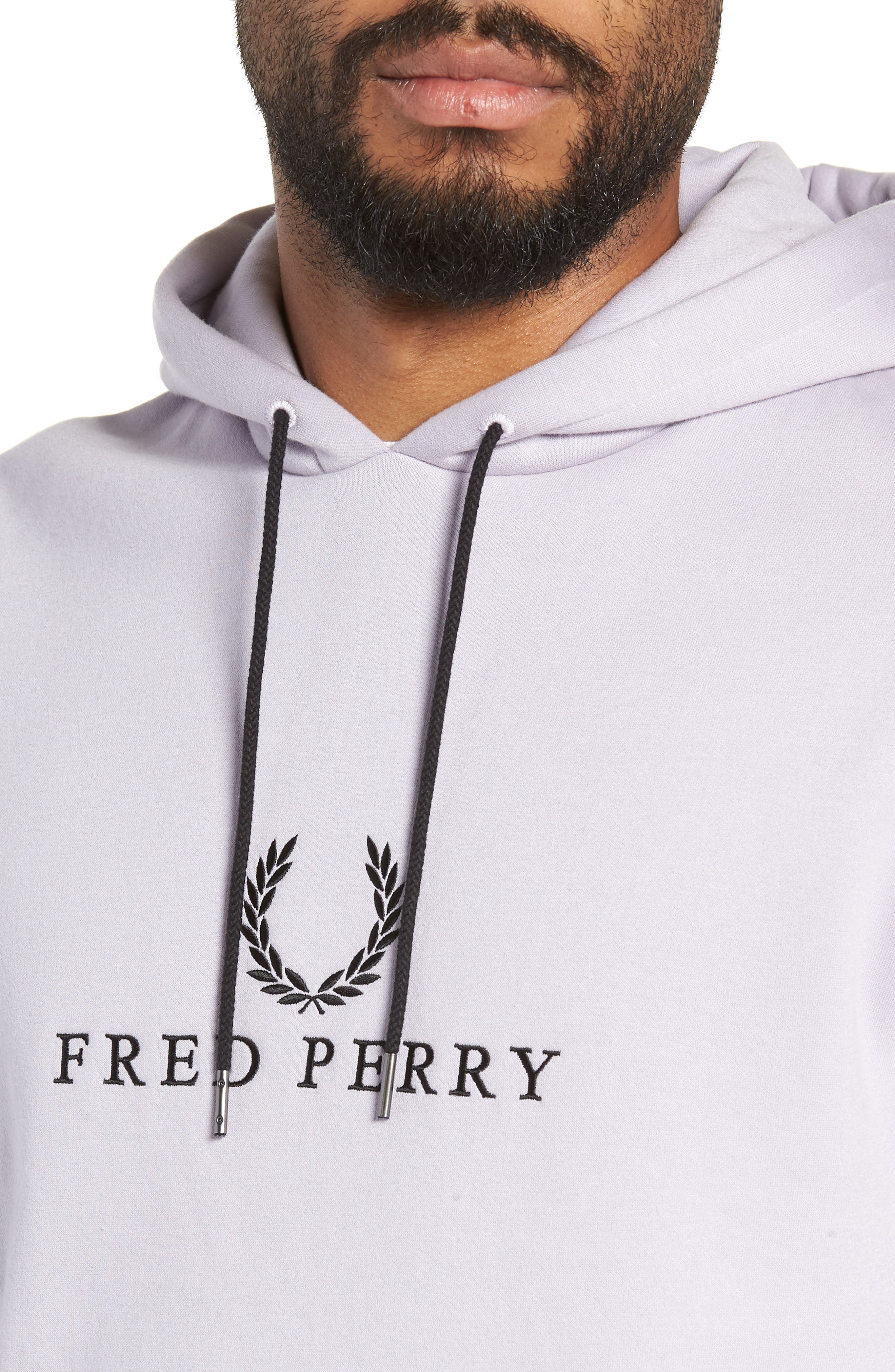Embroidered Hoodie,                             Alternate thumbnail 4, color,                             500