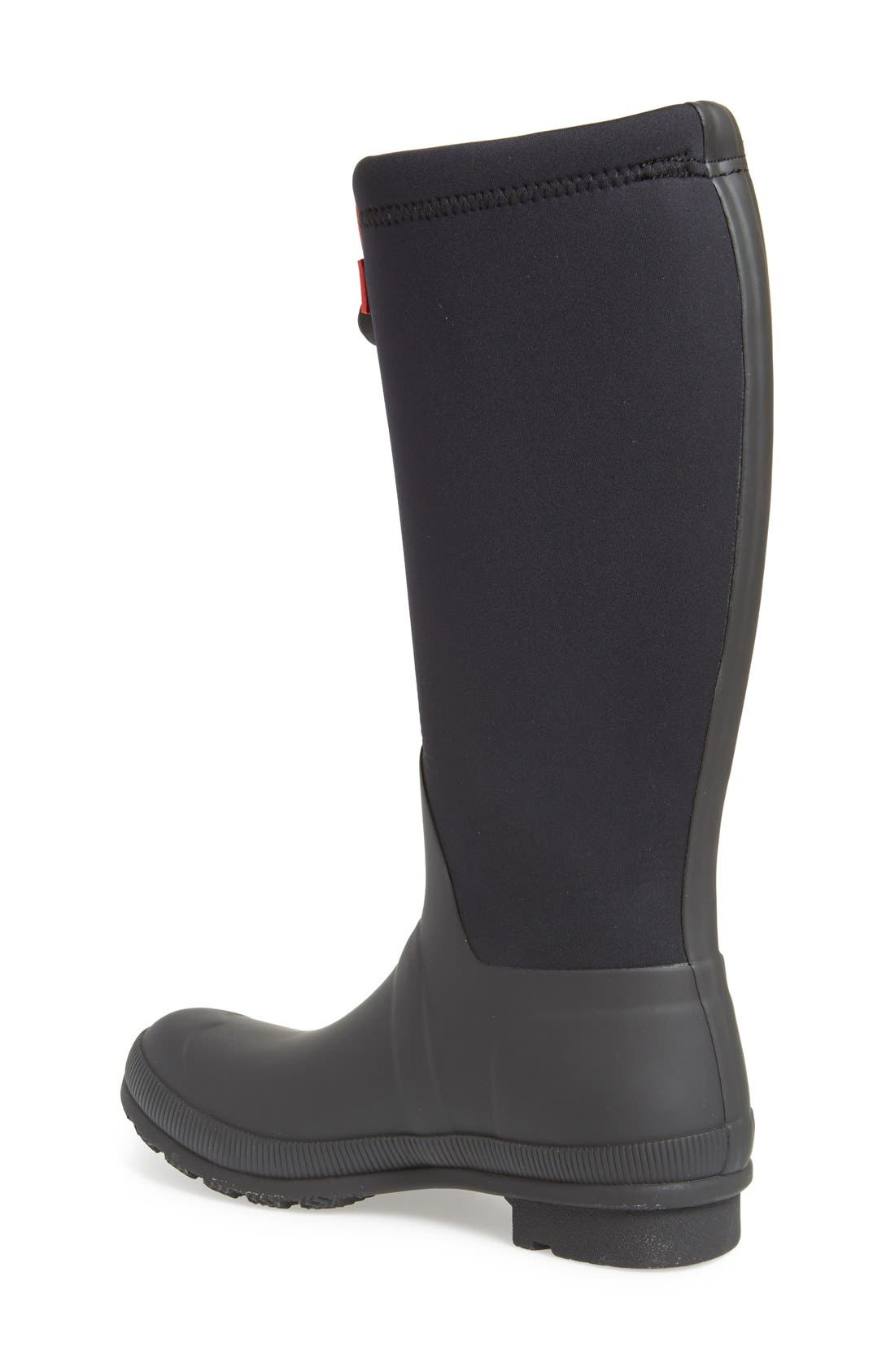 'Original Tour' Neoprene Waterproof Boot,                             Alternate thumbnail 4, color,                             001