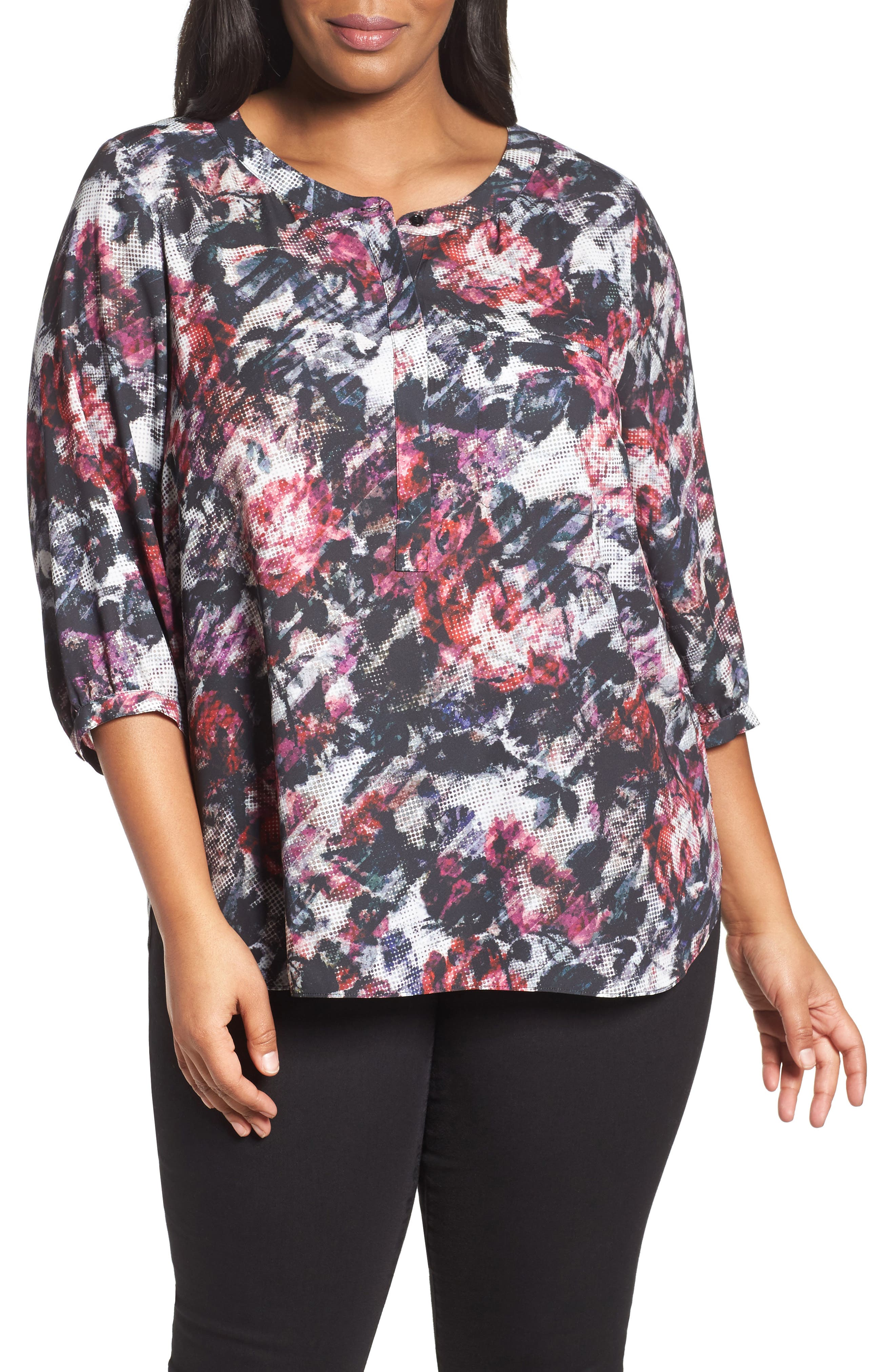 Henley Top,                             Alternate thumbnail 171, color,