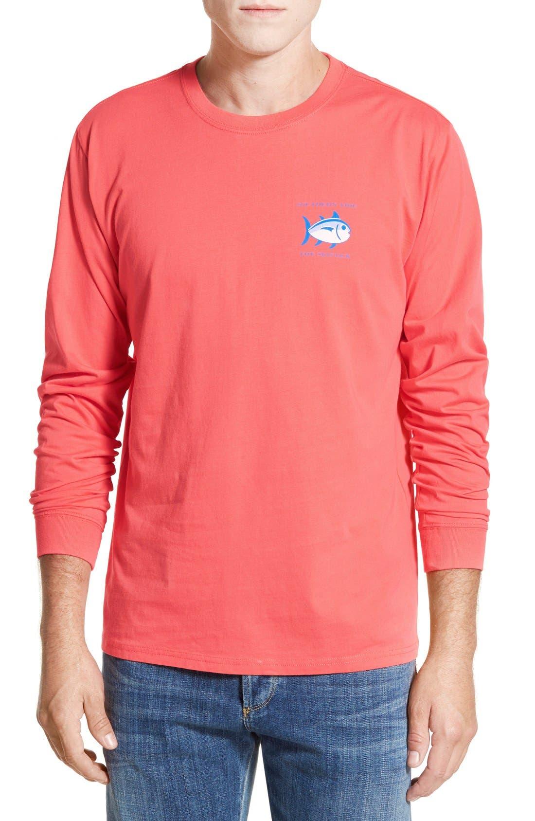 'Skipjack'Long Sleeve Graphic T-Shirt,                             Alternate thumbnail 53, color,